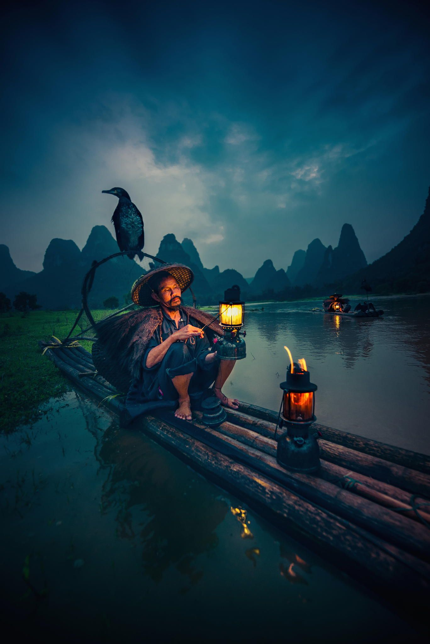 Cormorant Fisherman by Tom Anderson on 500px