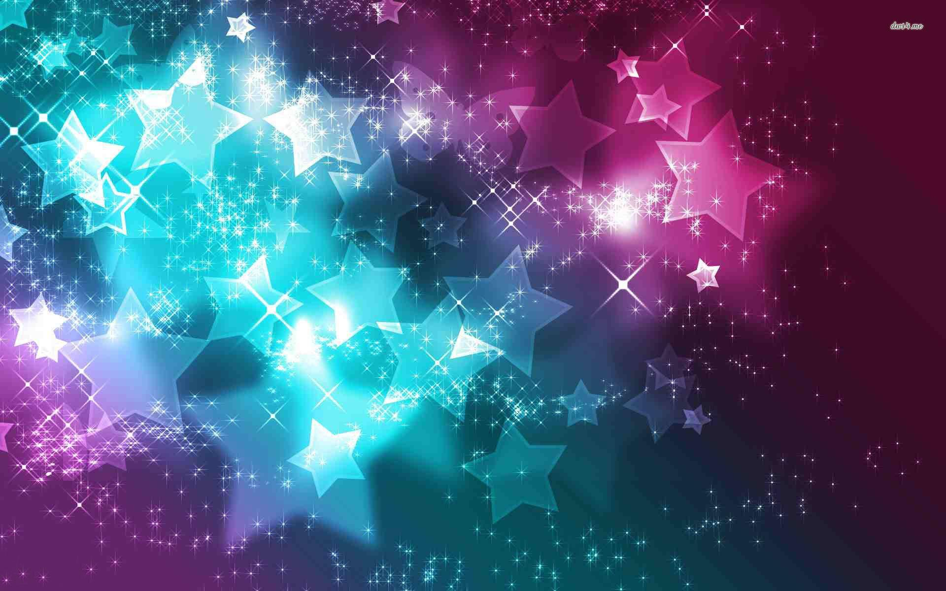 Sparkling Stars and Butterflies wallpapers