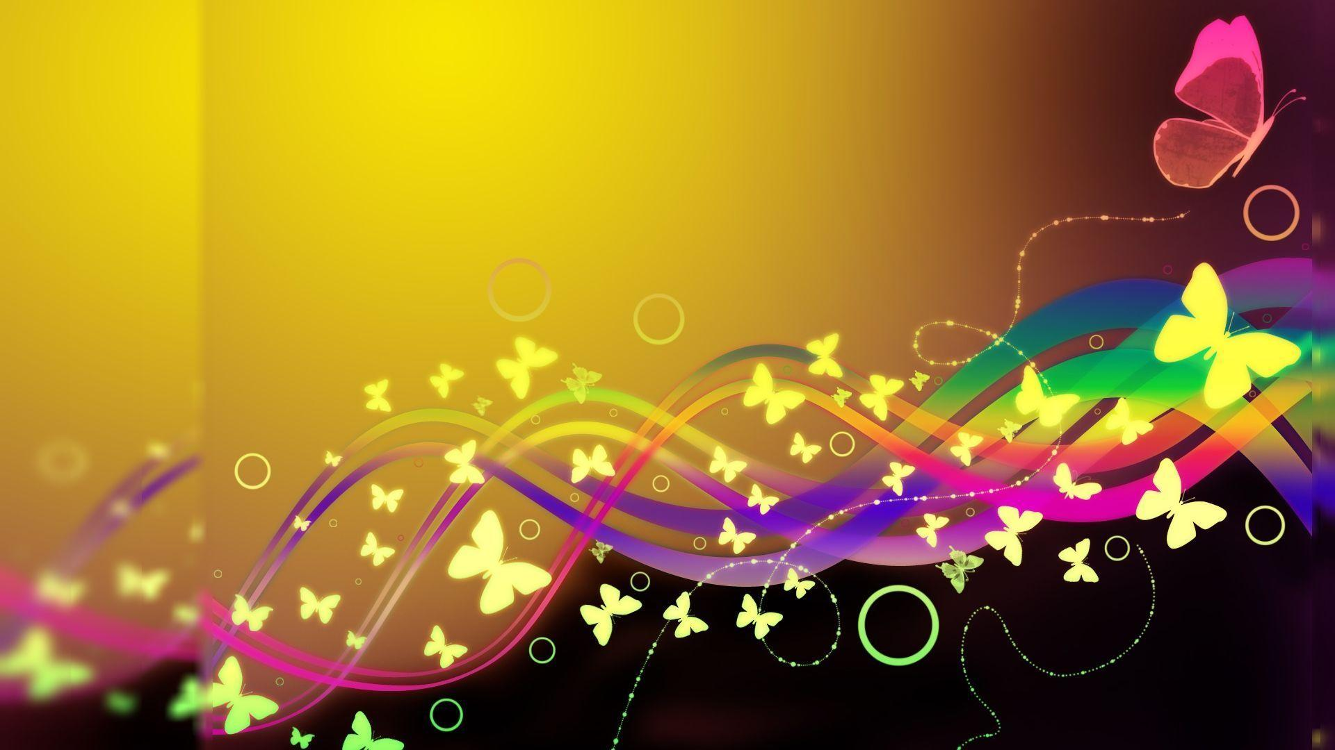 Backgrounds For Gt Colorful Butterfly Wallpapers