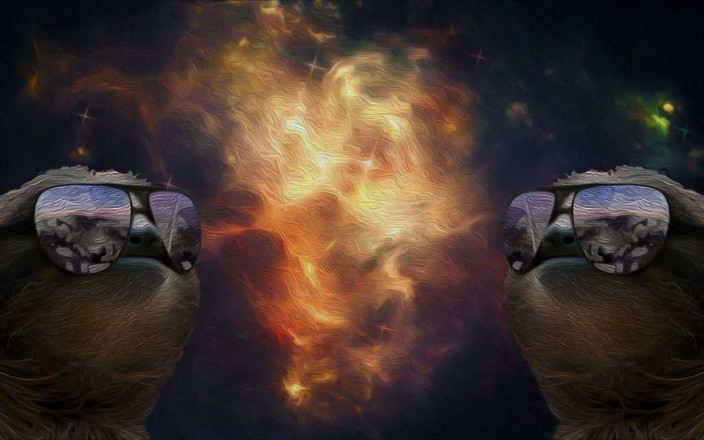 Sloth In Space Wallpapers