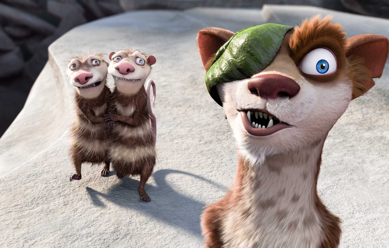 Wallpapers cartoon, ice age, Ice Age, weasel image for