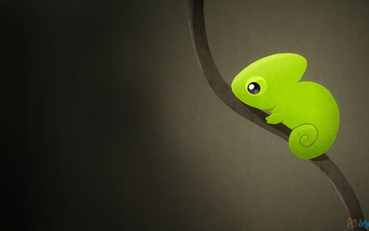 Cute Chameleon wallpapers