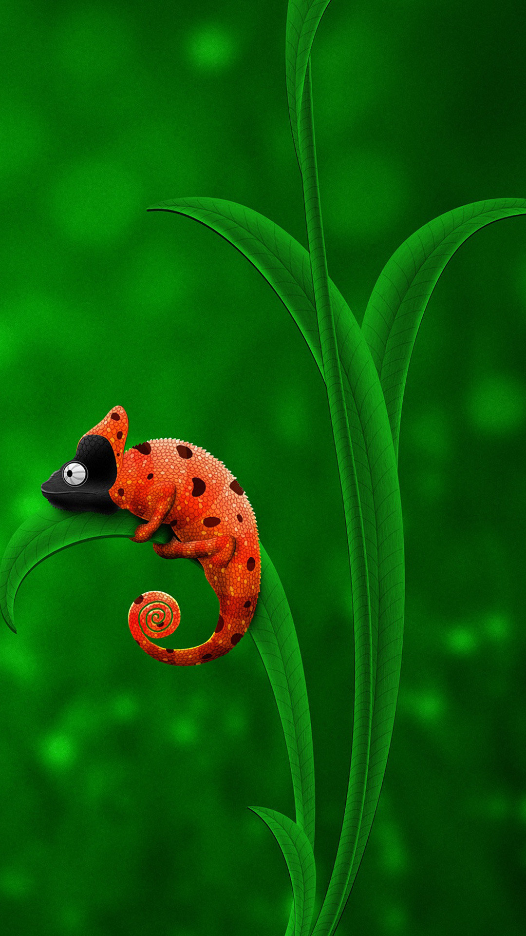 42 High Quality Cute Chameleon Wallpapers