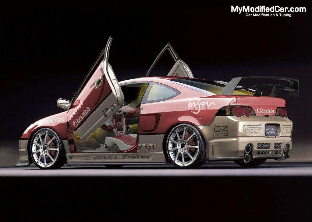 Acura RSX Tuning, modified Acura RSX Wallpapers