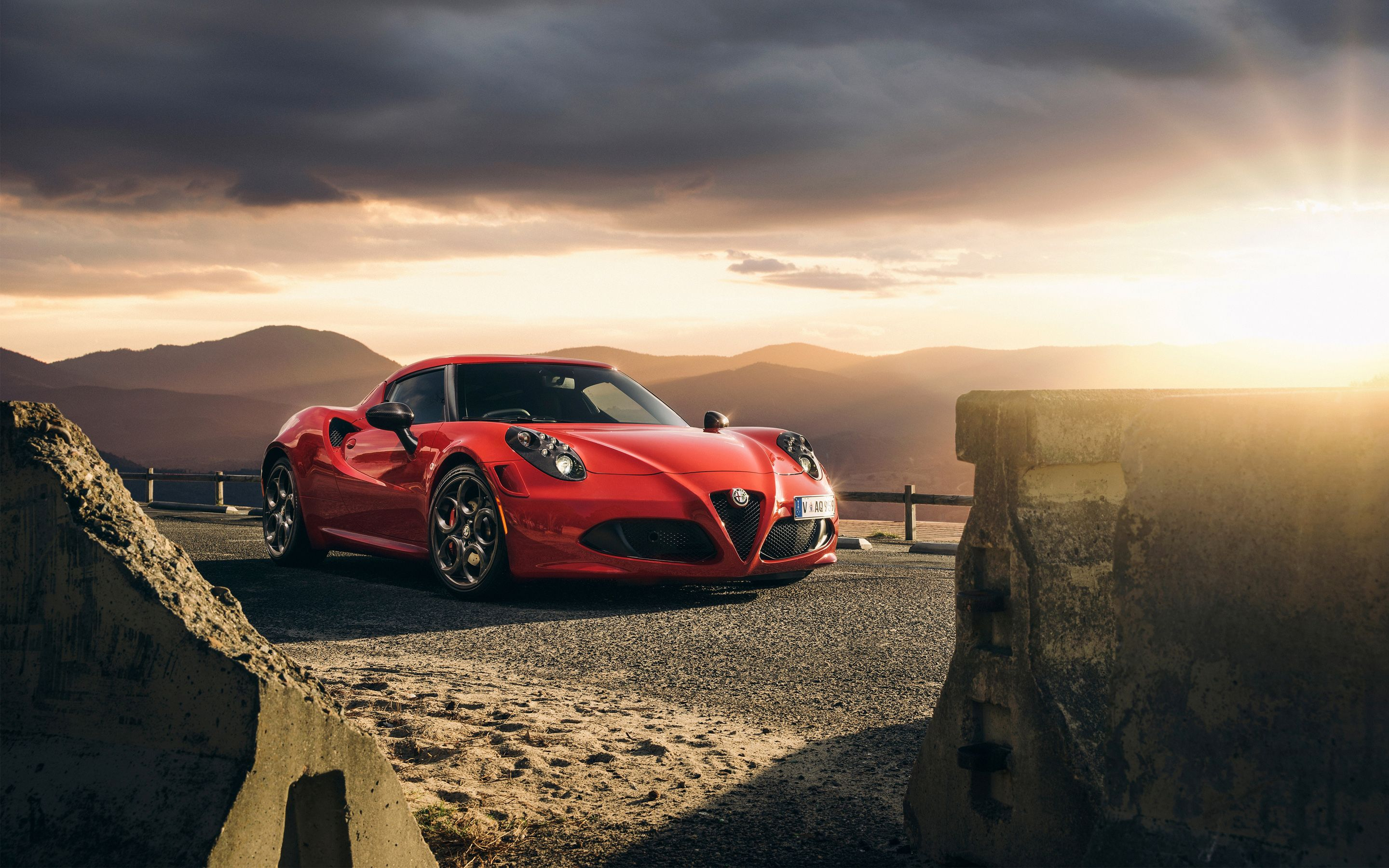 2015 Alfa Romeo 4C Launch Edition Wallpapers