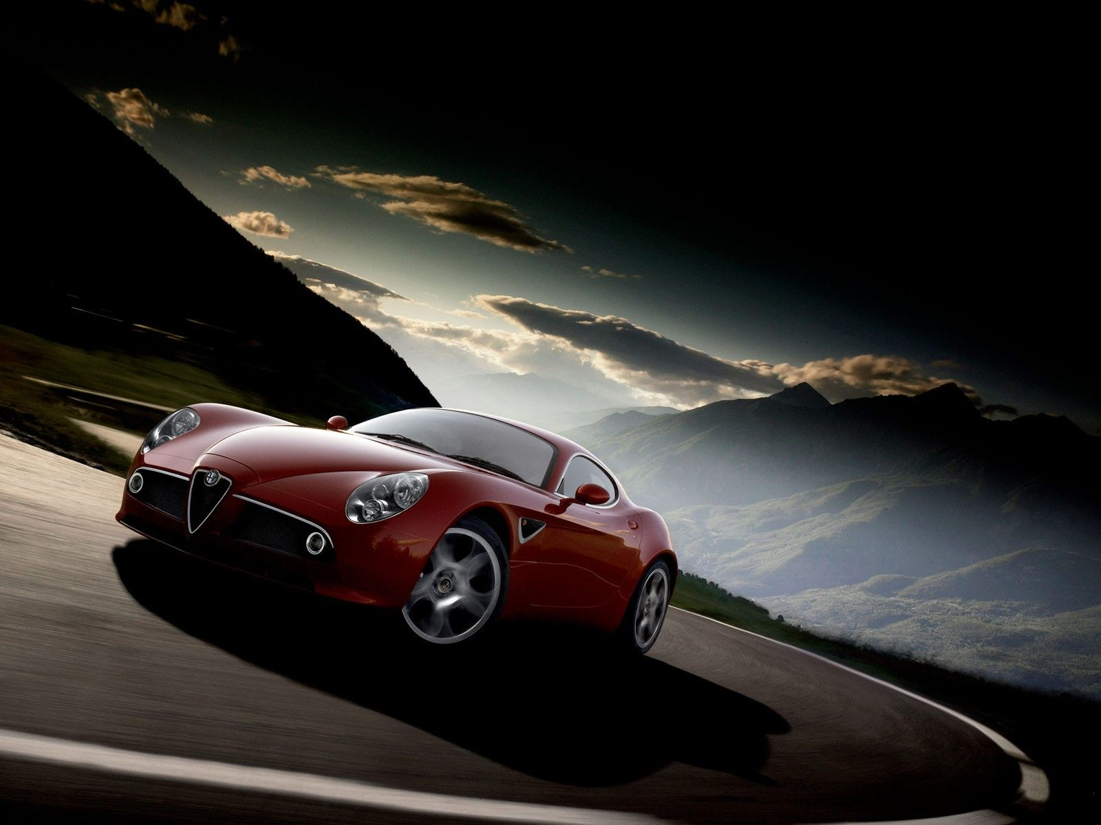 car vehicle road alfa romeo wallpapers and backgrounds