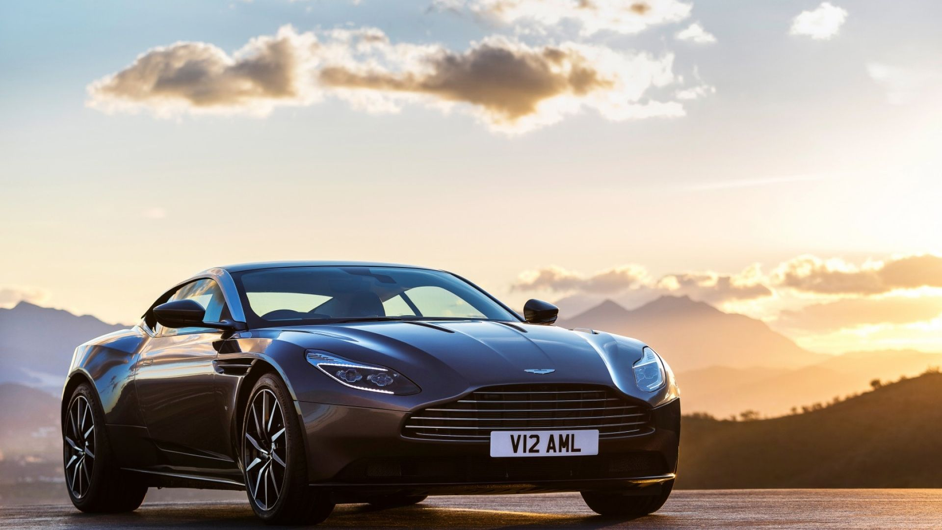 Download Wallpapers 1920x1080 Aston martin, Db11, Side view Full HD
