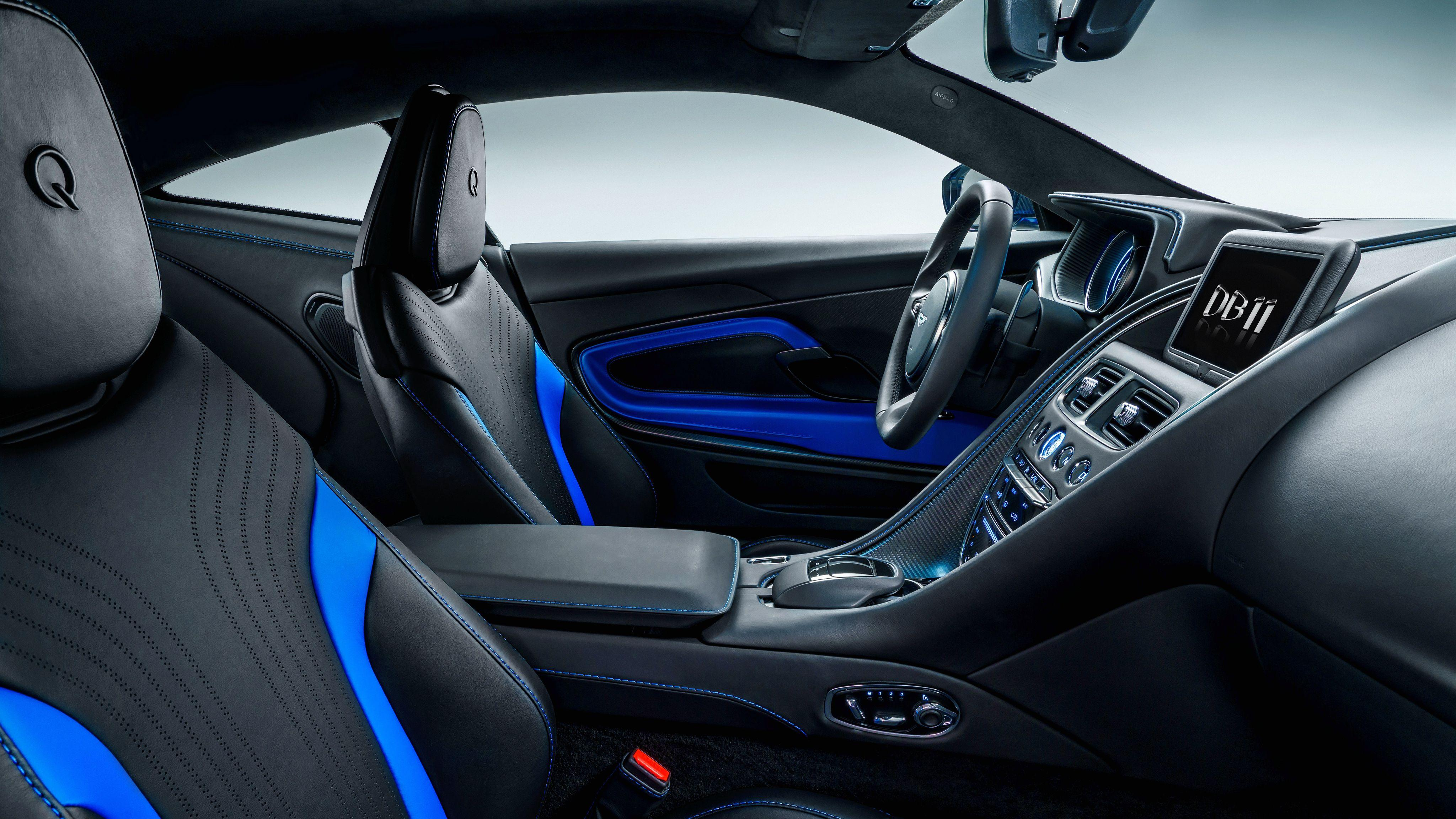 2017 Q by Aston Martin DB11 Interior Wallpapers