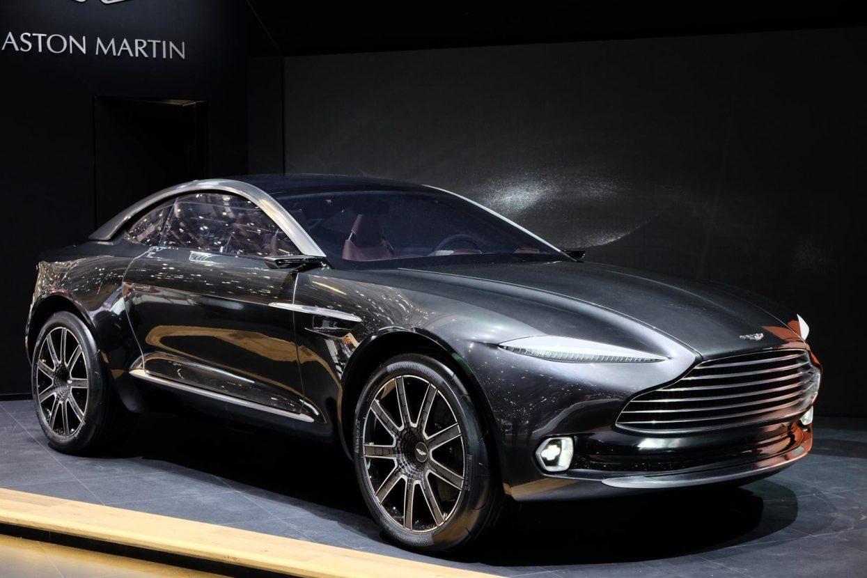 Aston Martin DBX Concept Side HD Wallpapers