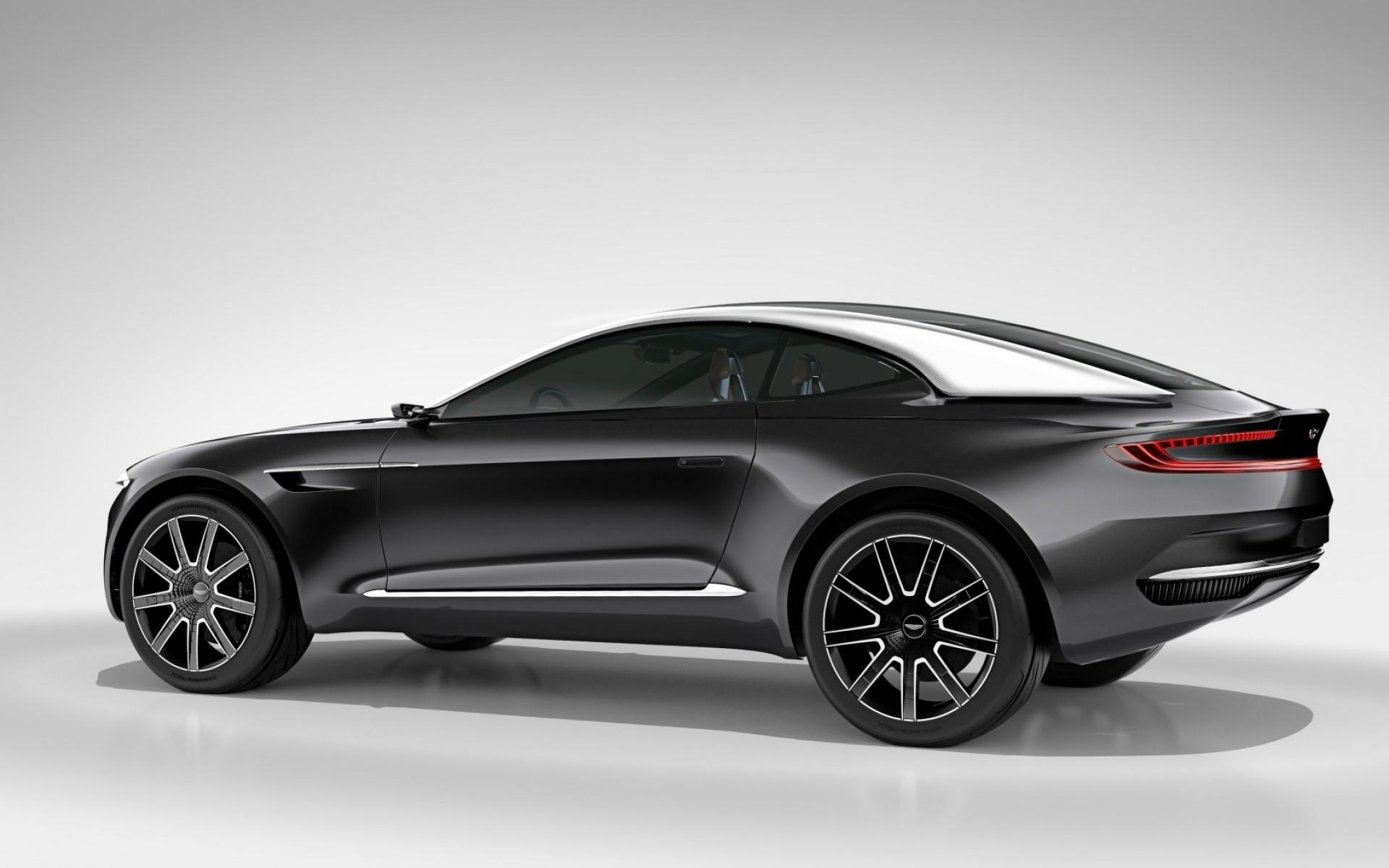 Aston Martin DBX Concept Side View. Android wallpapers for free