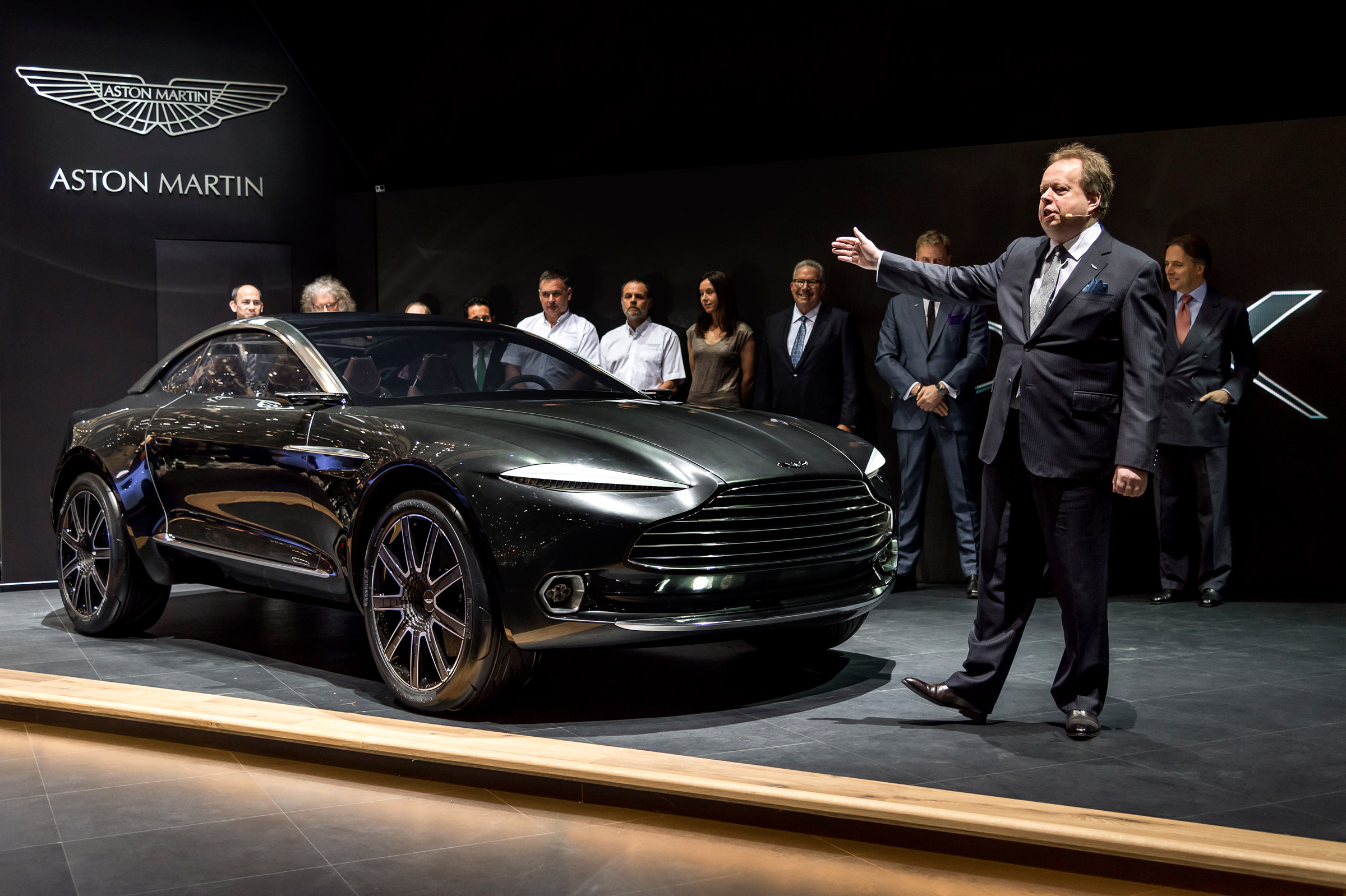 New Aston Martin factory: DBX crossover will be hand built in Wales