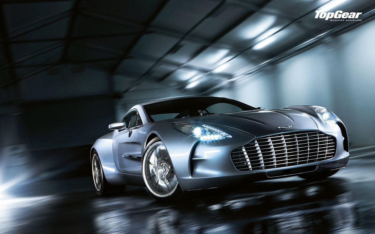 3840x2160 Wallpapers One77 Aston Martin Supercar Light Top View