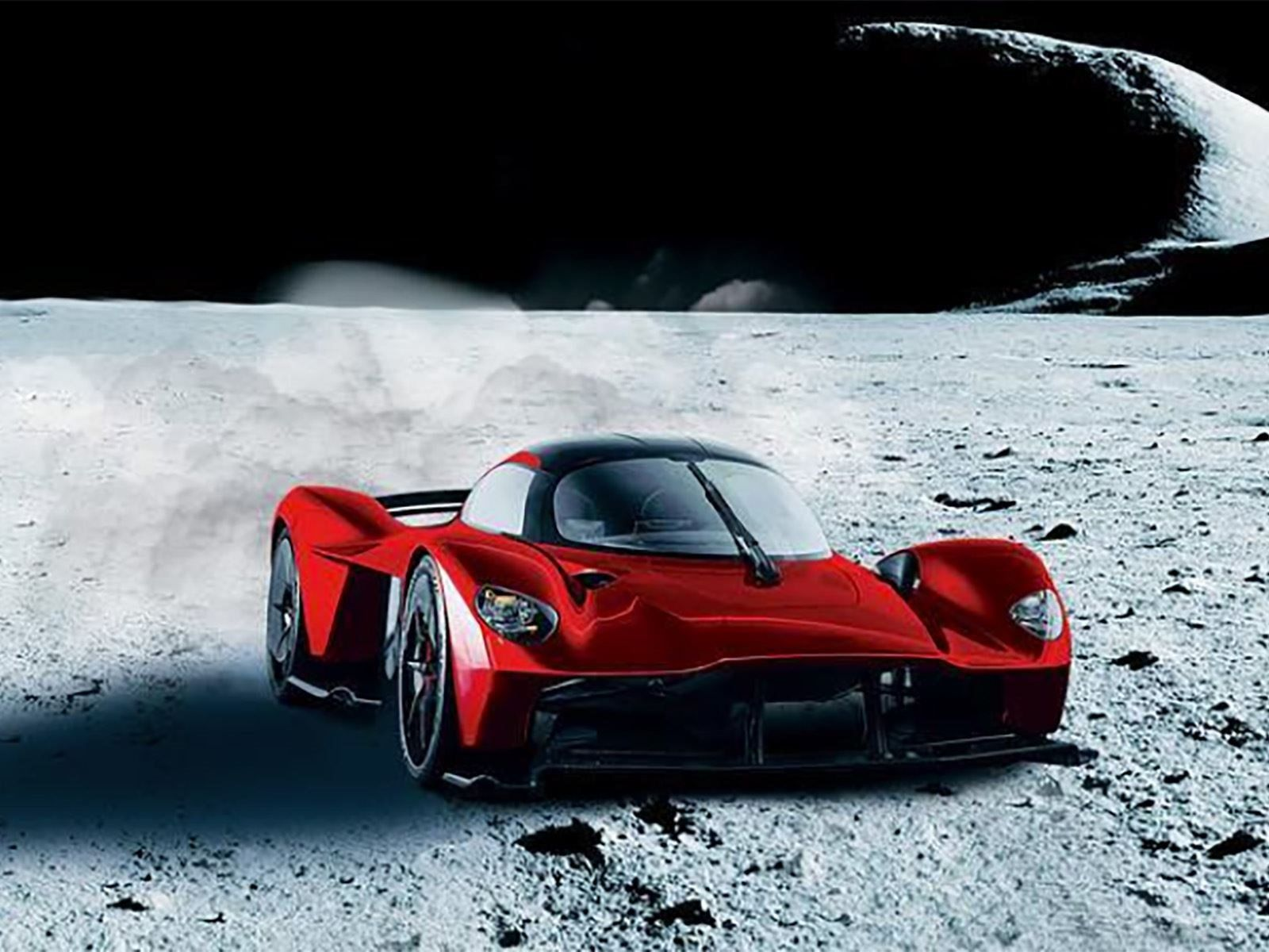 An Aston Martin Valkyrie Will Have Real Moon Dust In Its Paint