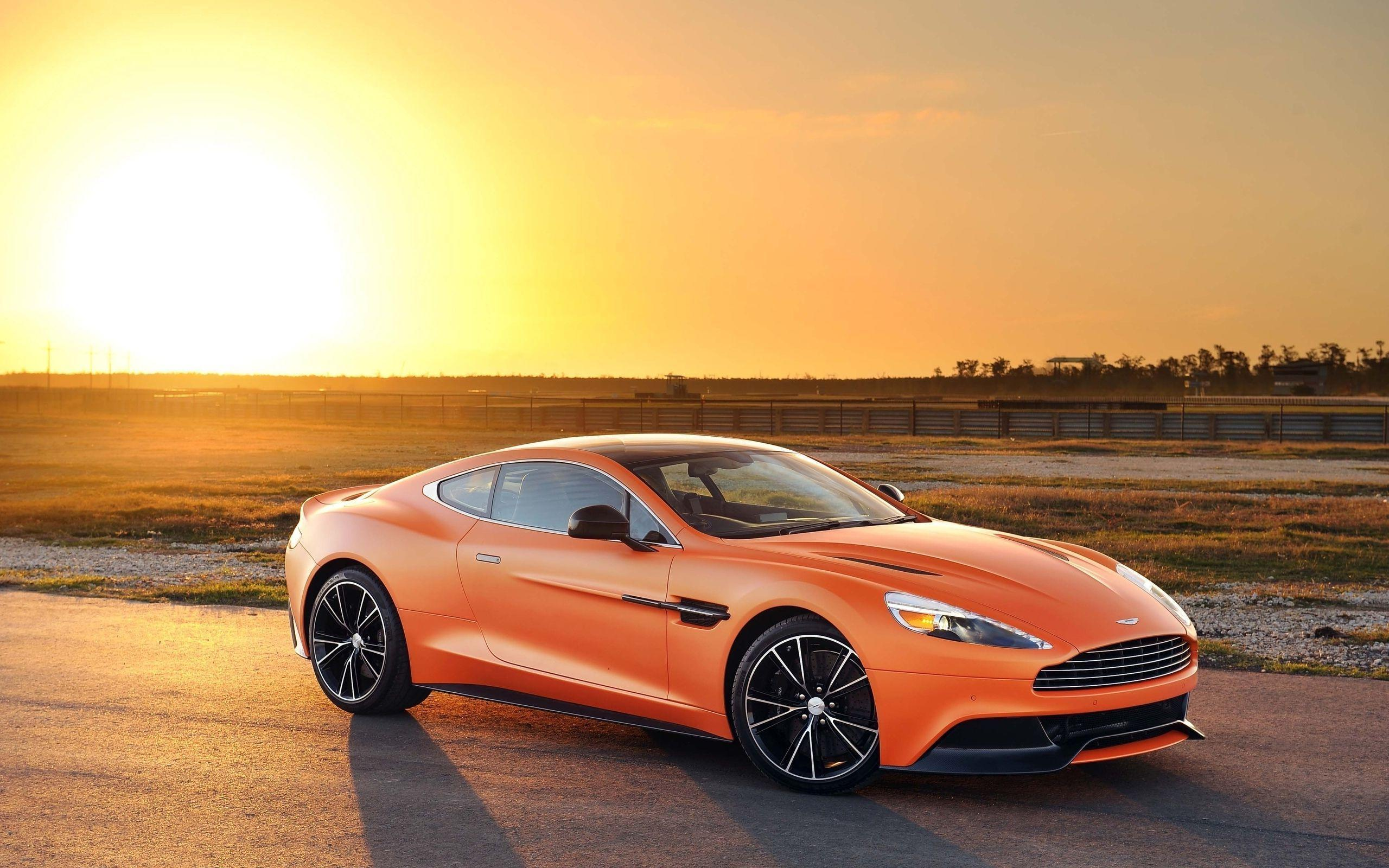 Blue Aston Martin Vanquish On Road wallpaper_other_health