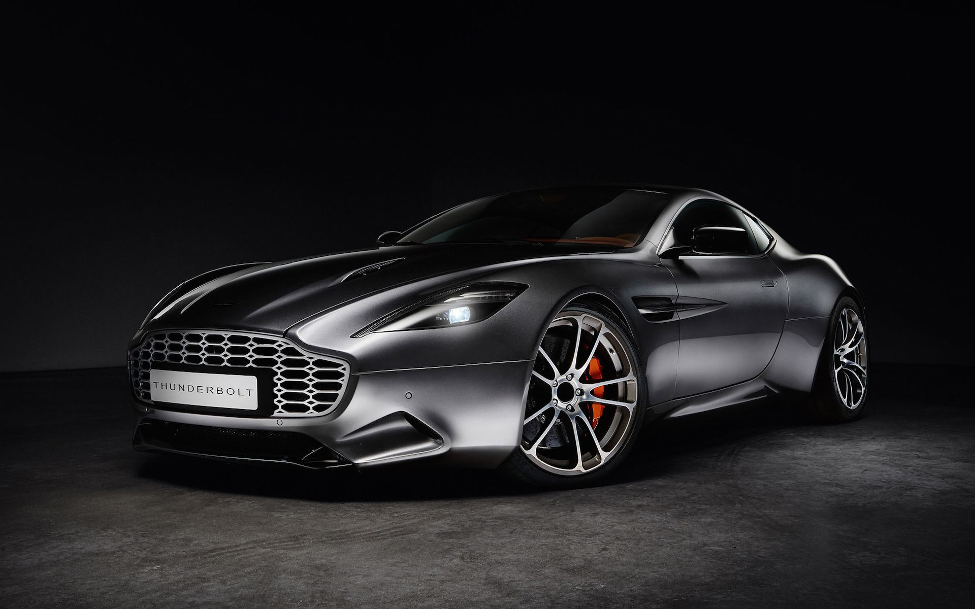 Aston Martin Vanquish Thunderbolt Wallpapers