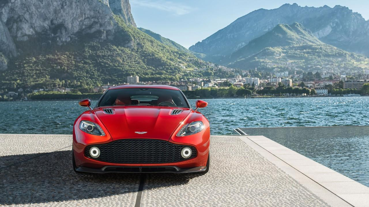All in One Wallpapers: 2017 Aston Martin Vanquish Zagato Wallpapers
