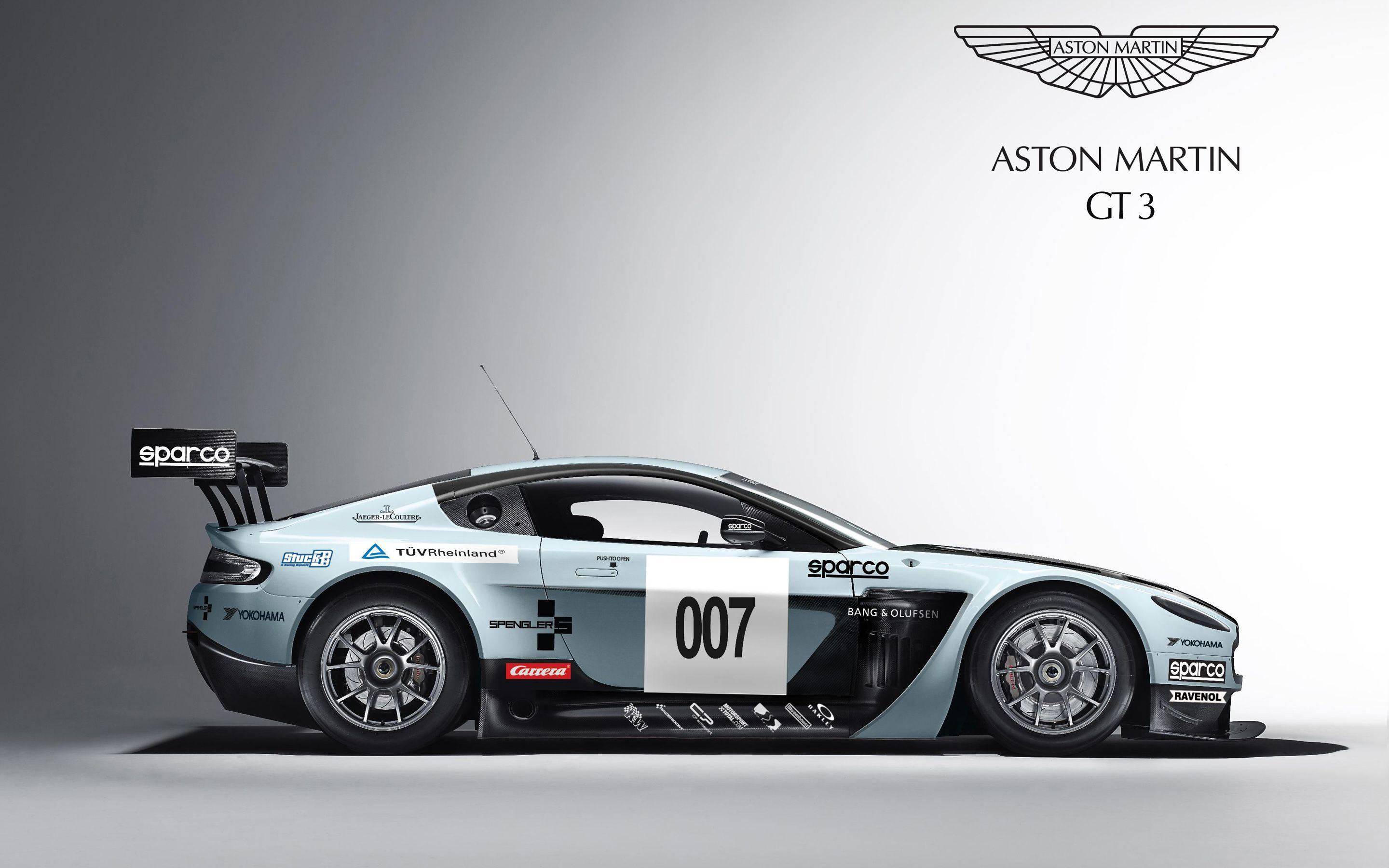 Aston Martin V12 Vantage GT3 Wallpapers