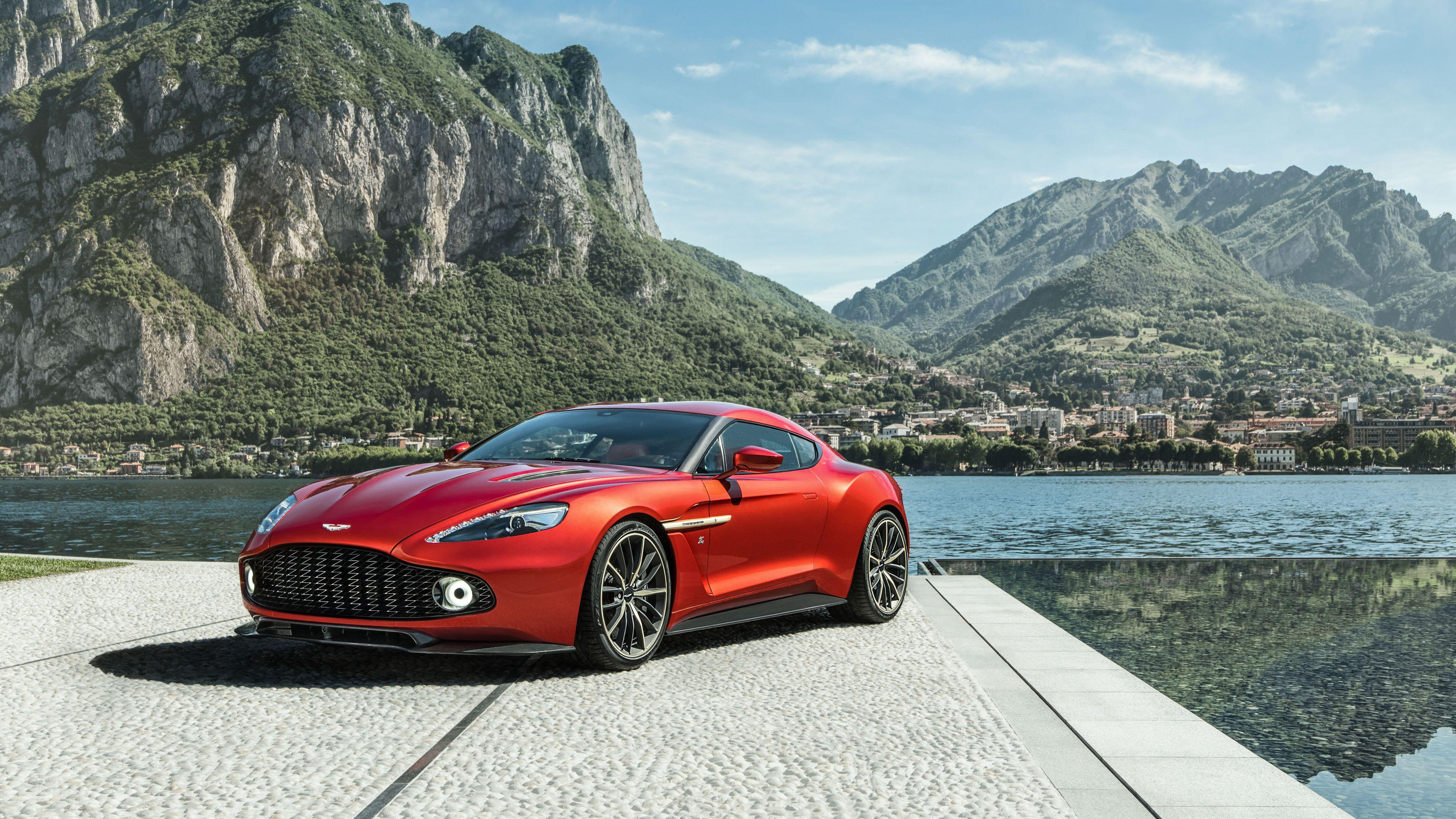 2017 Aston Martin Vanquish Zagato 5 Wallpapers