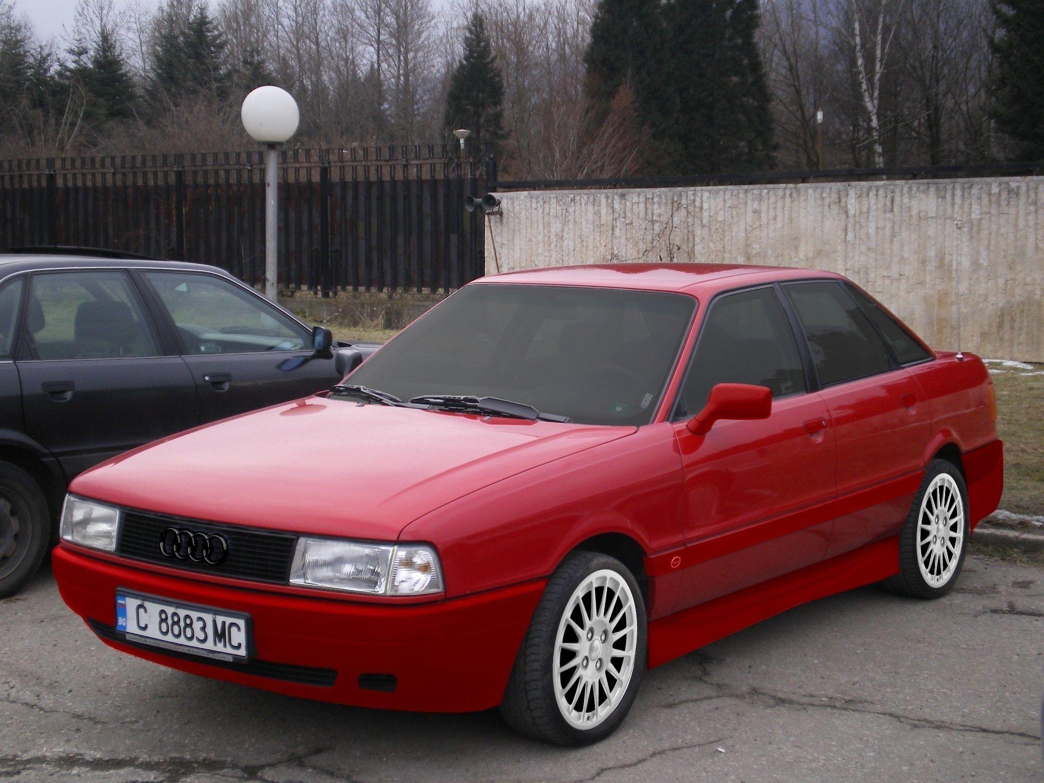 Audi 80 – pictures, information and specs