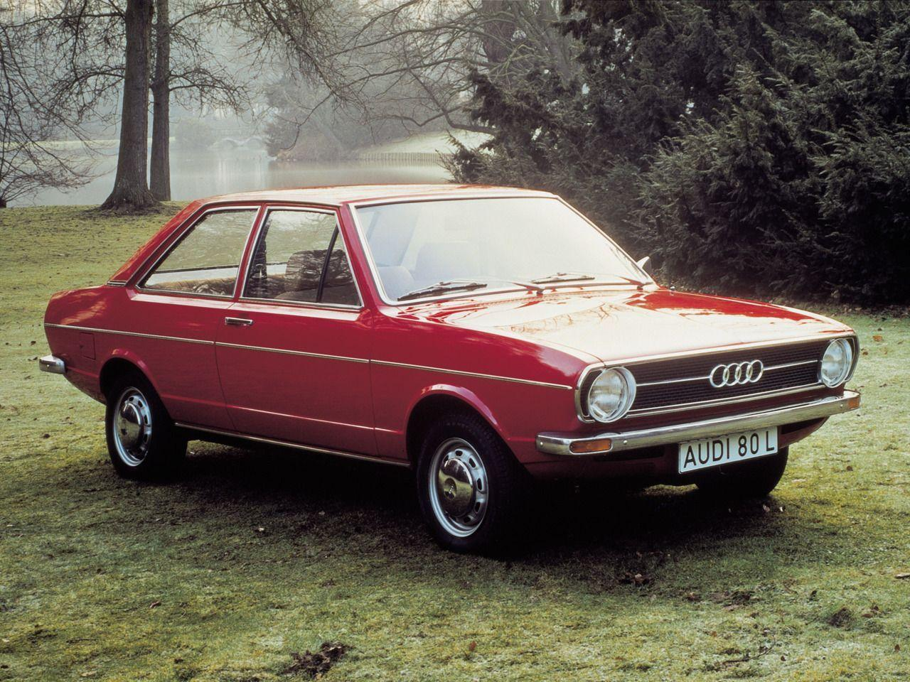 Audi 80...my first front wheel drive car...it was in a poo brown