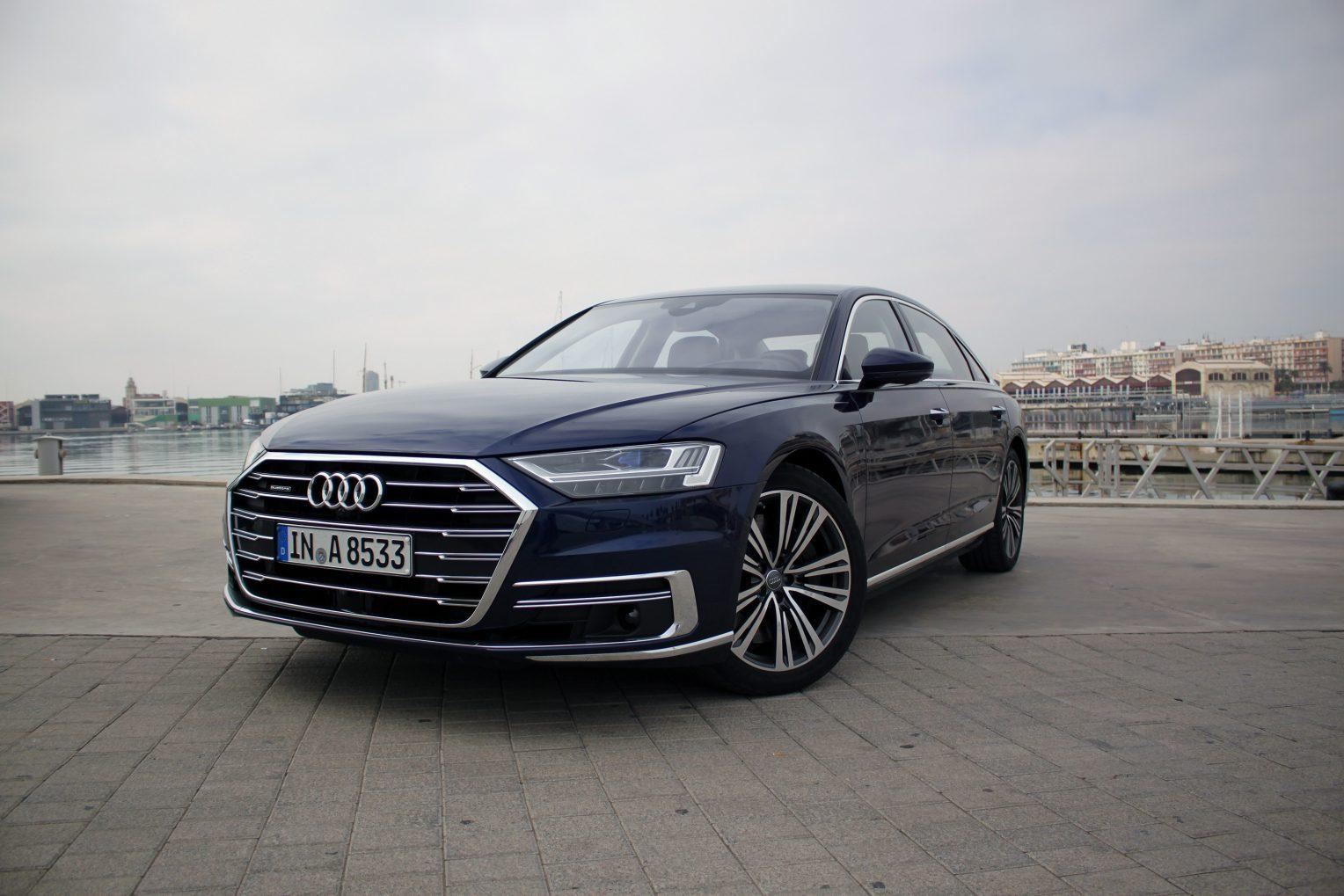 2019 Audi A4 Front Wallpapers