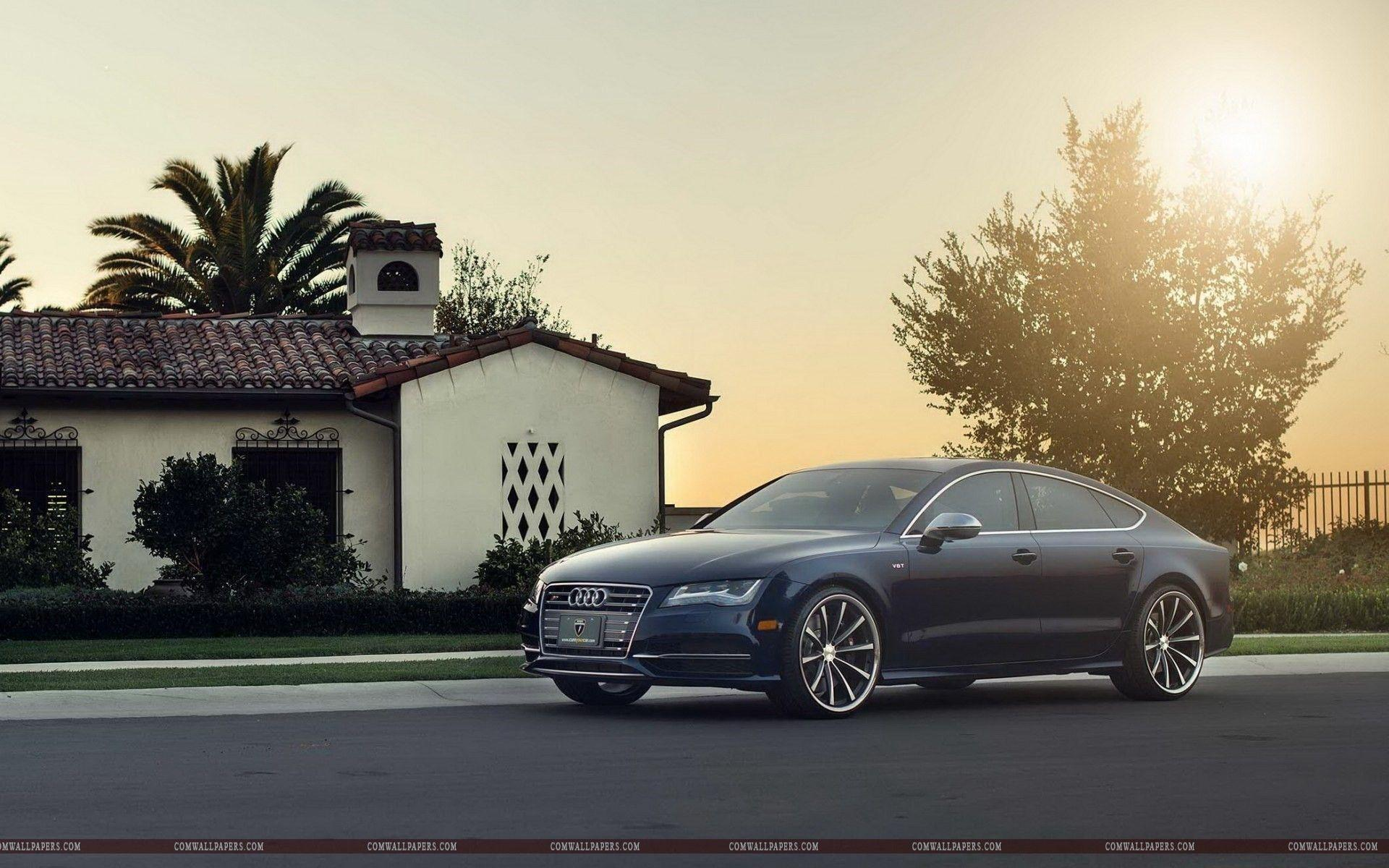 Audi a7 House hd Wallpapers