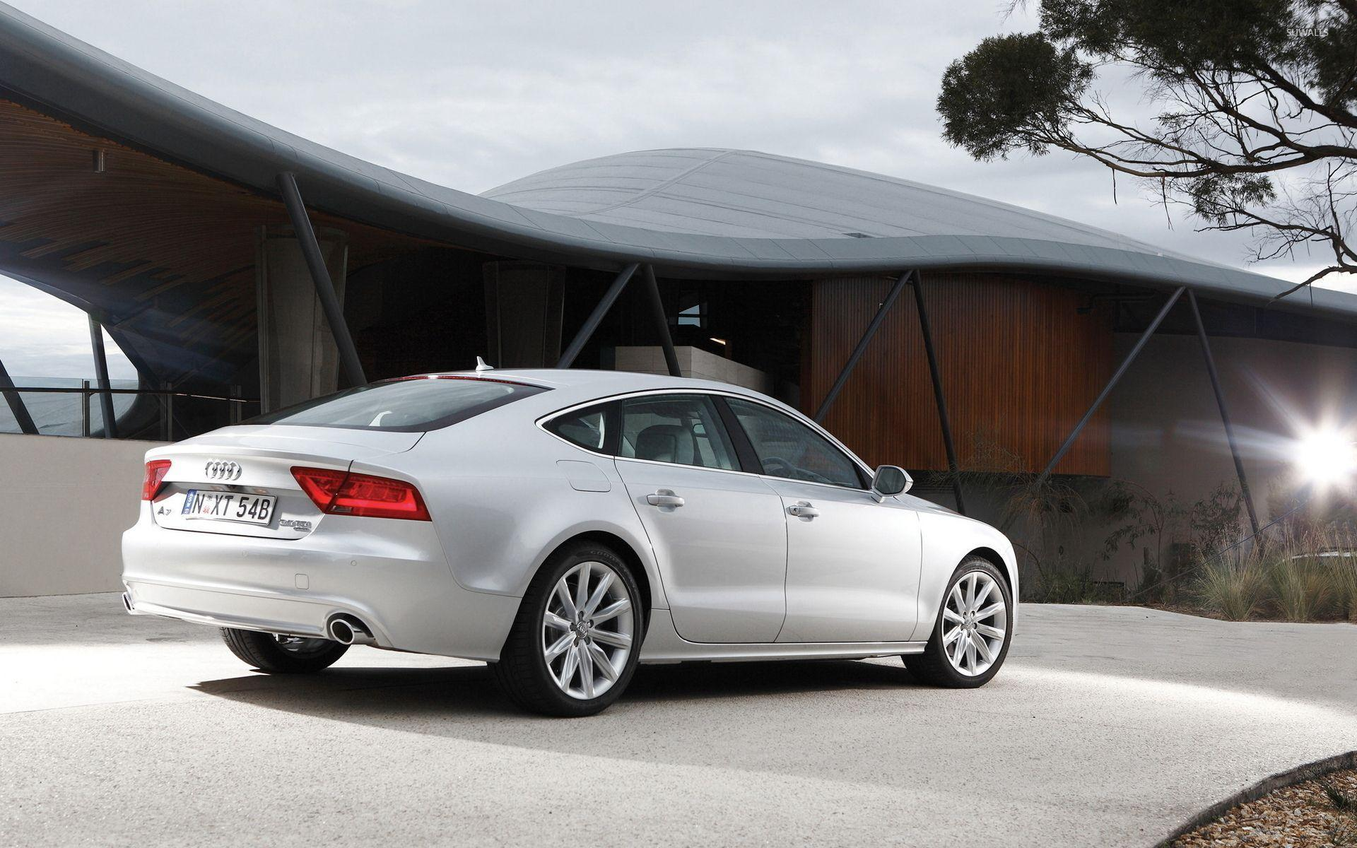 Audi A7 back side view wallpapers