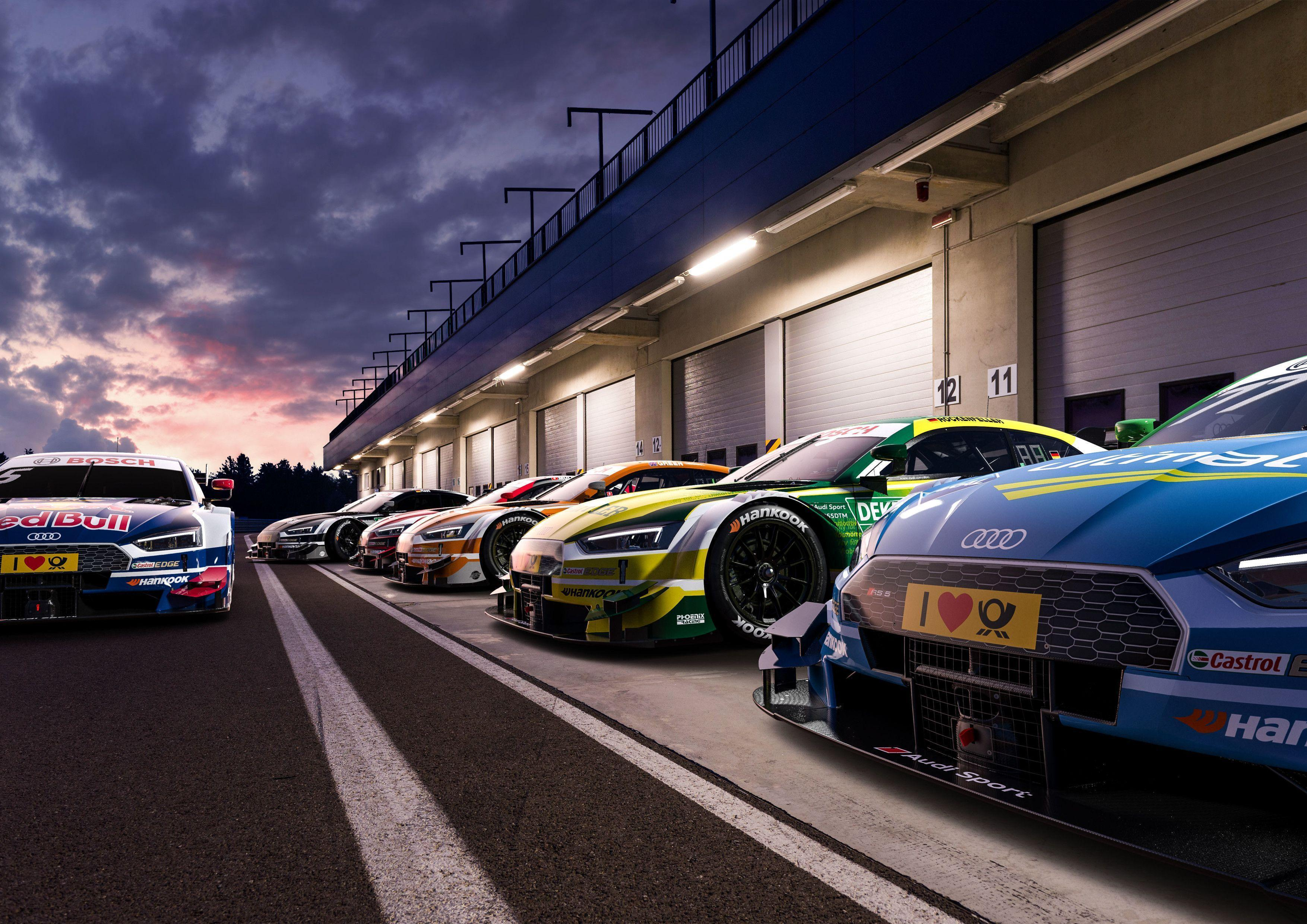 Your stunning Audi RS5 DTM Wallpapers is here