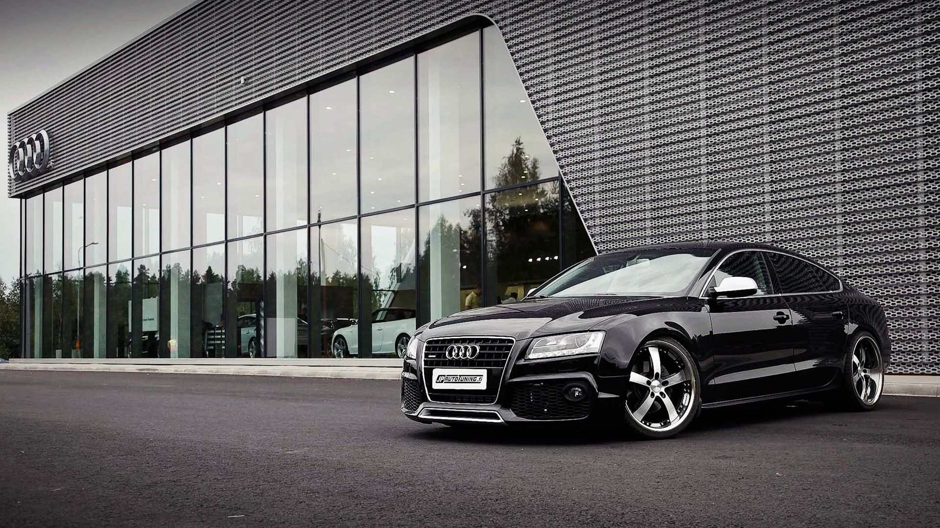 Audi RS5 Black HD Wallpaper, Backgrounds Image