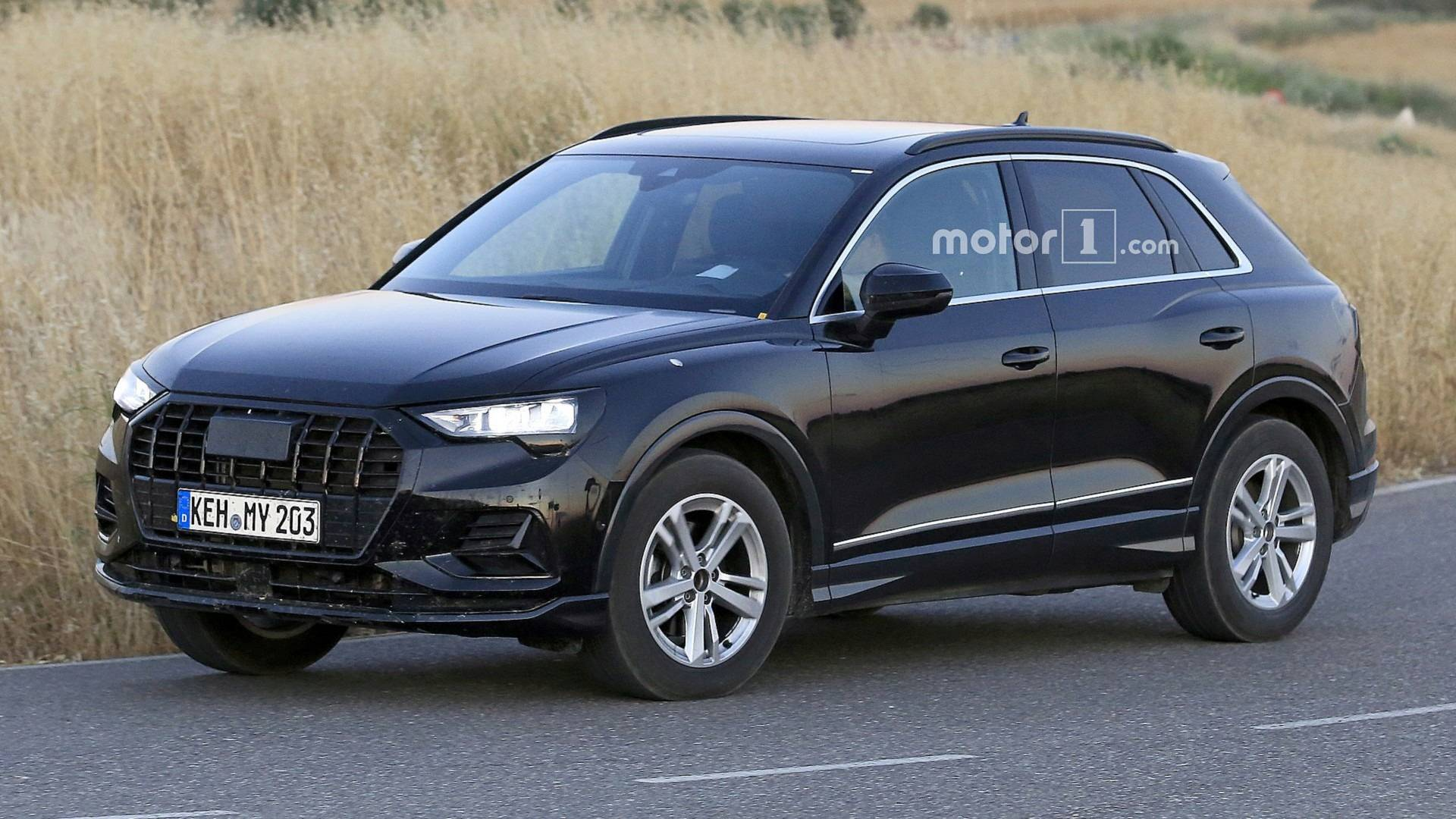 2019 Audi Q3 Spied With 99 Percent Of The Camo Gone