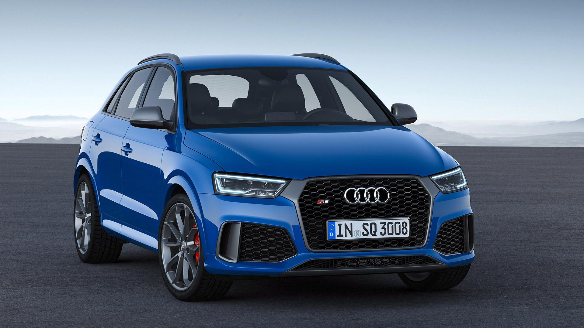 2017 Audi RS Q3 Performance Wallpapers & HD Image