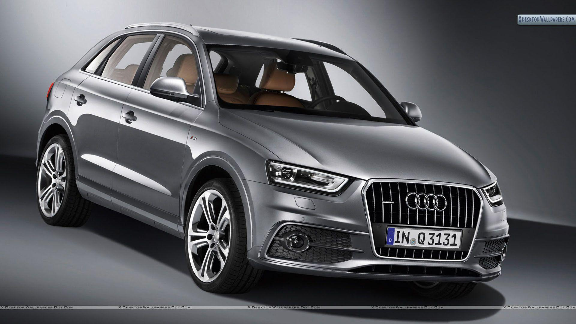 Audi q3 car on the road wallpapers and image