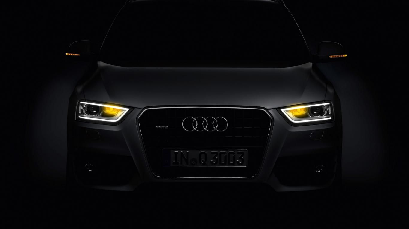 2012 Audi Q3 Headlight Is Turned On Car Wallpapers Free Download