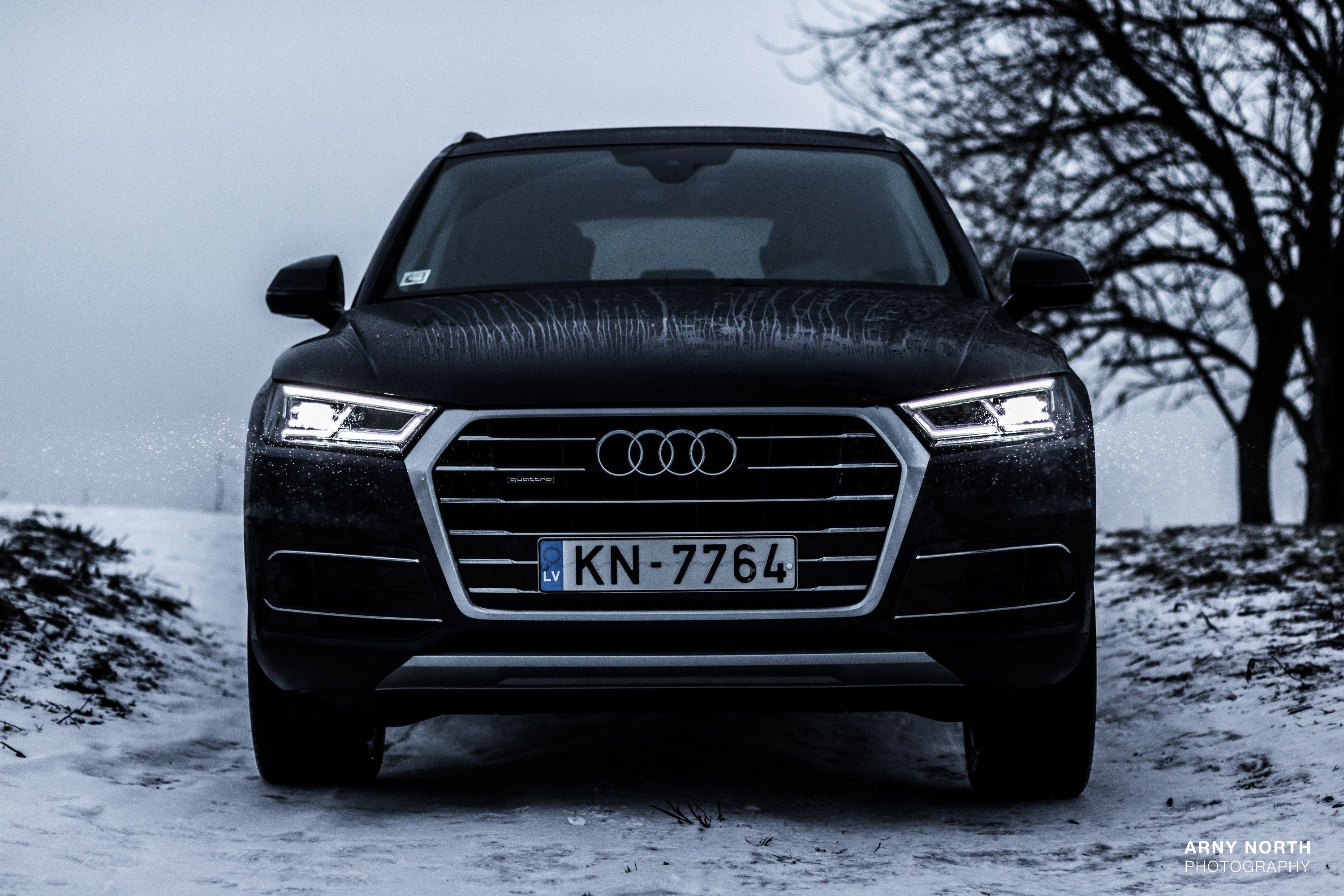 audi q5 audi quattro snow latvia arny north wallpapers and backgrounds