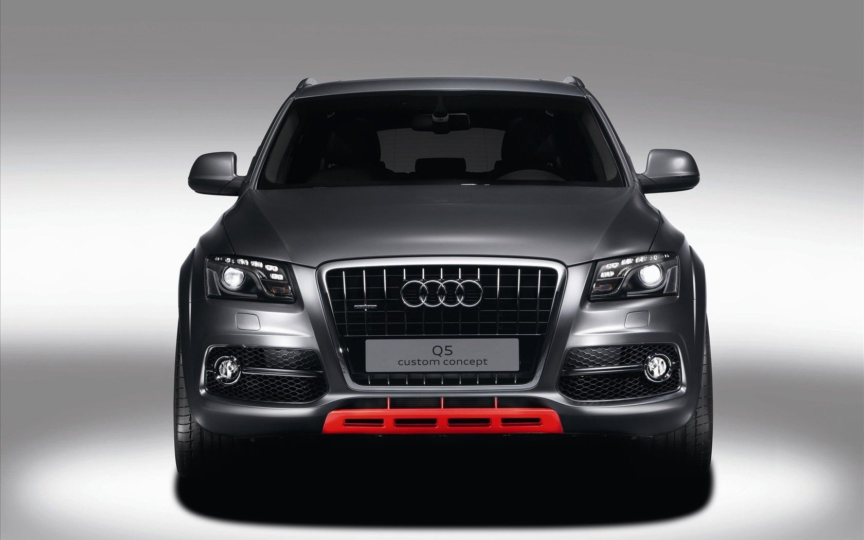 Audi Q5 Custom Concept Gray WallPaper HD