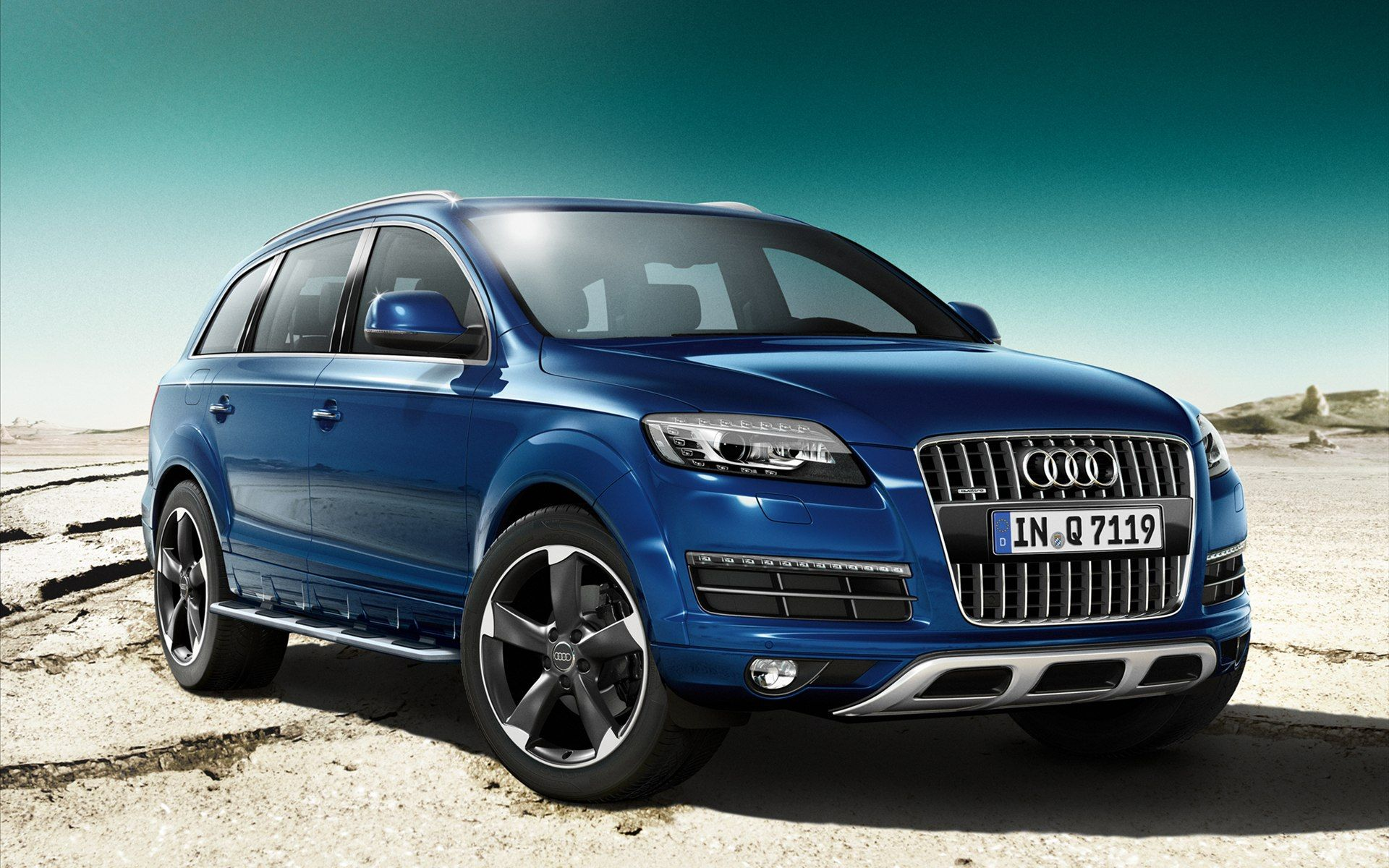 Audi Q7 S 2014 Widescreen Exotic Car Wallpapers of 4 : Diesel