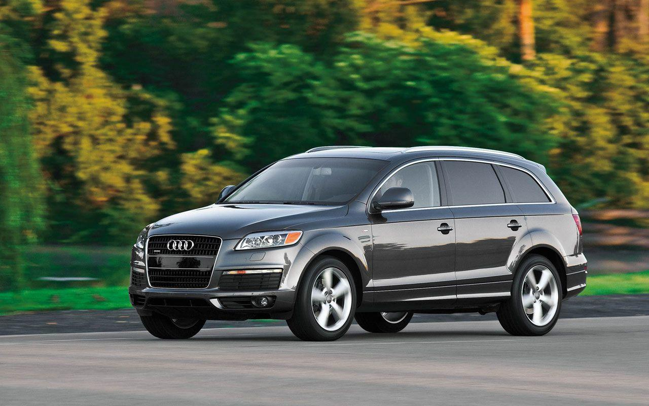 Audi Q7 Photos and Wallpapers, Q7 Specifications, Interior Photos