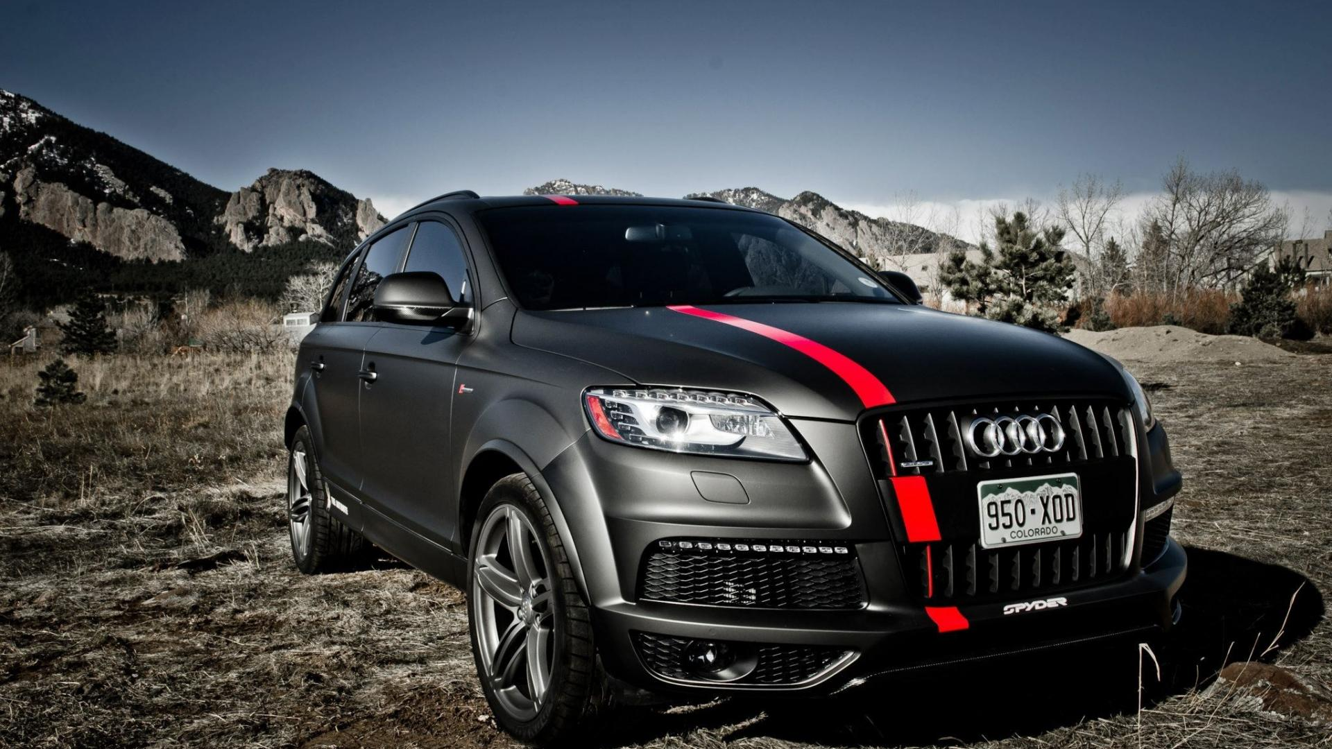 Supercars audi q7 suv german cars wallpapers