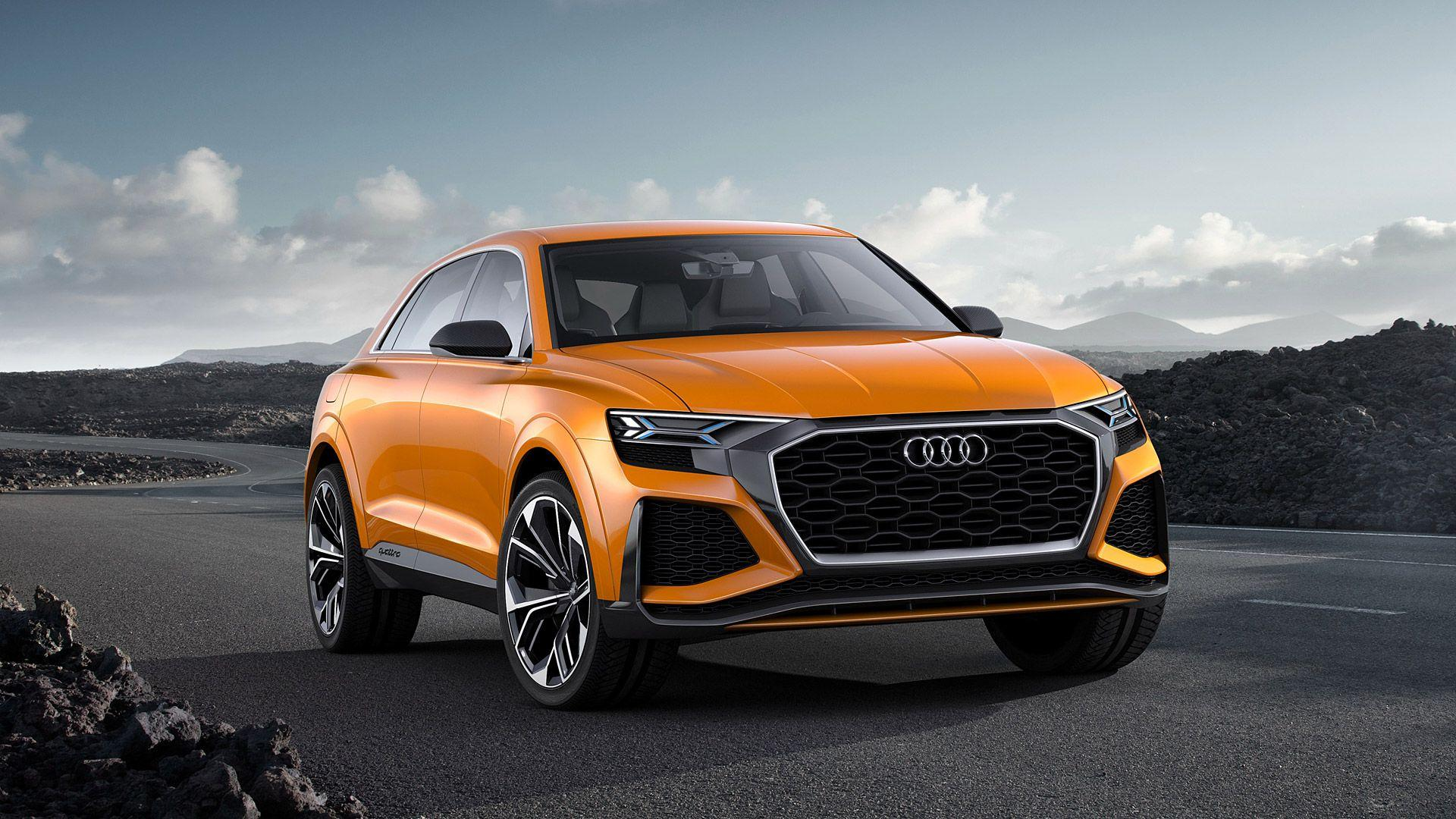 2017 Audi Q8 Sport Concept Wallpapers & HD Image