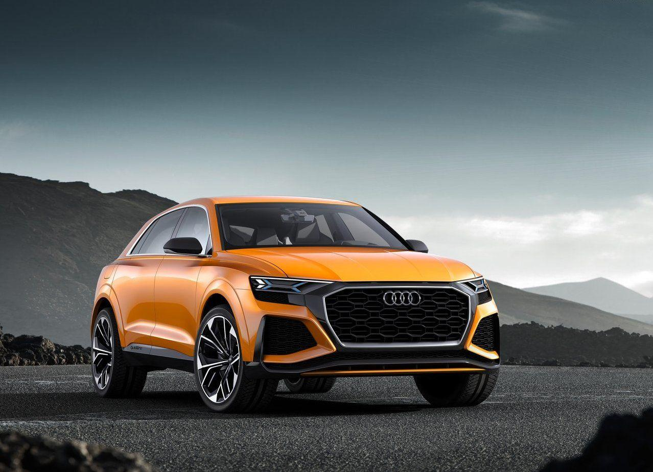2018 Audi Q8 Sport Concept Wallpapers 4K