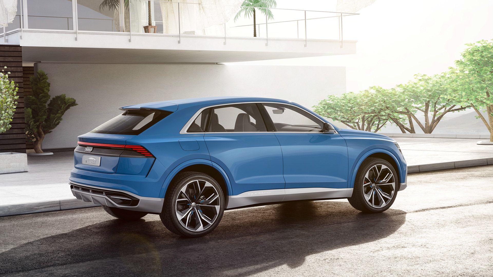 2017 Audi Q8 Concept Wallpapers & HD Image