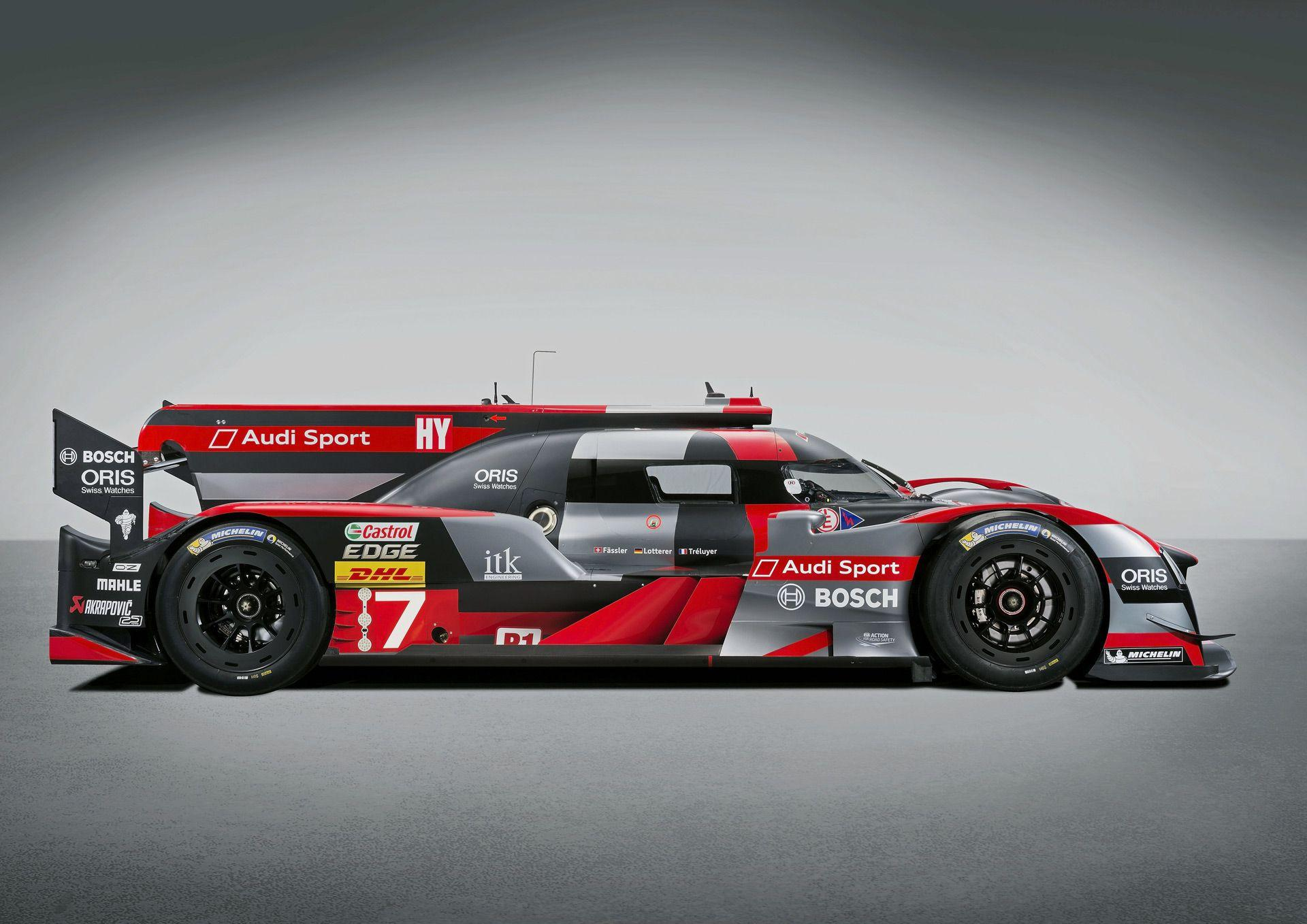 2016 R18 LMP1 is Audi's most powerful and efficient racer ever
