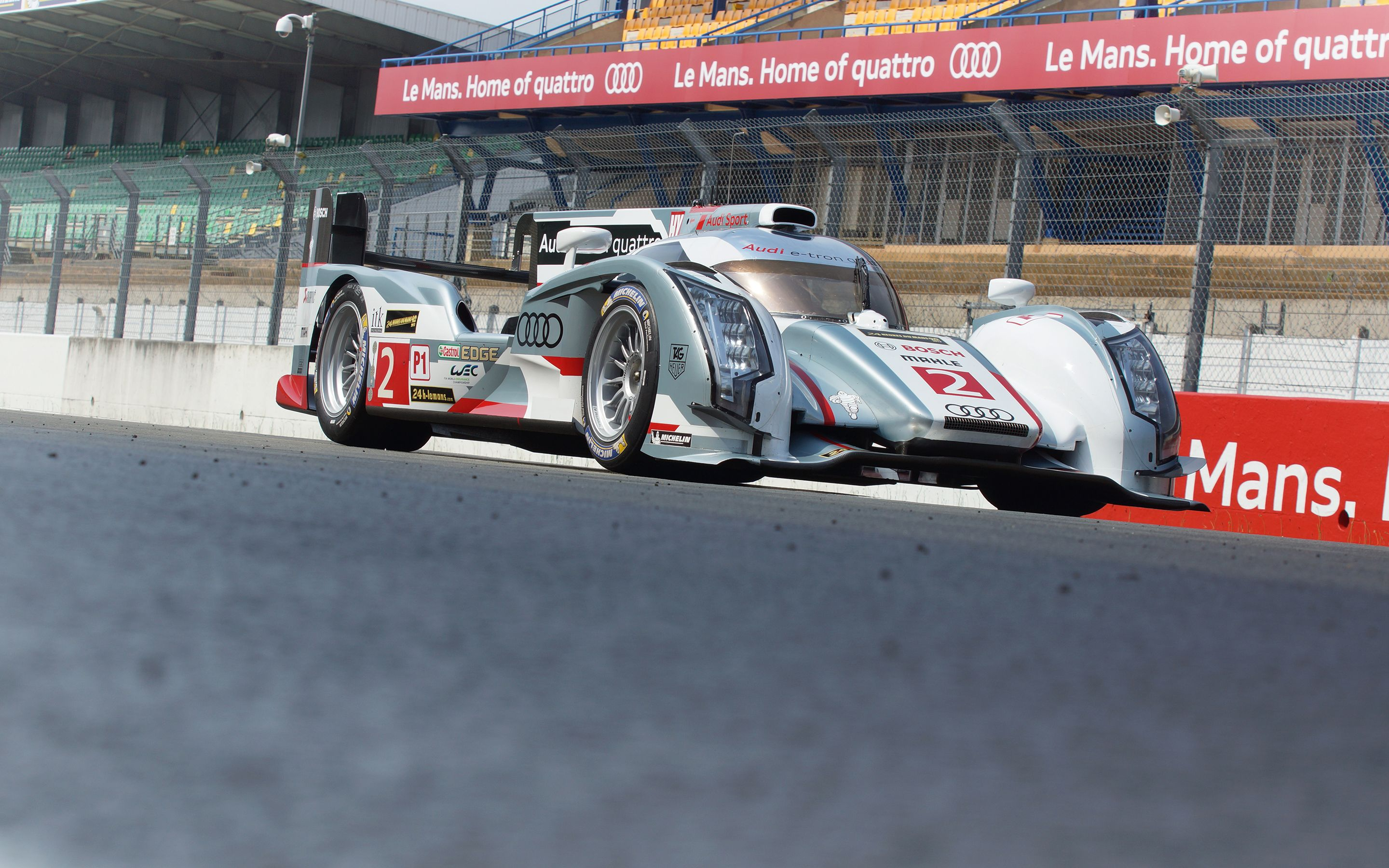 WotD: Bertram's House – Audi R18 in Le Mans, Home of quattro
