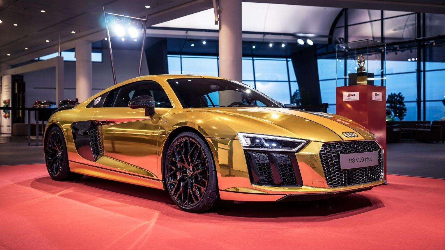 2019 Audi R8 Engine HD Wallpapers