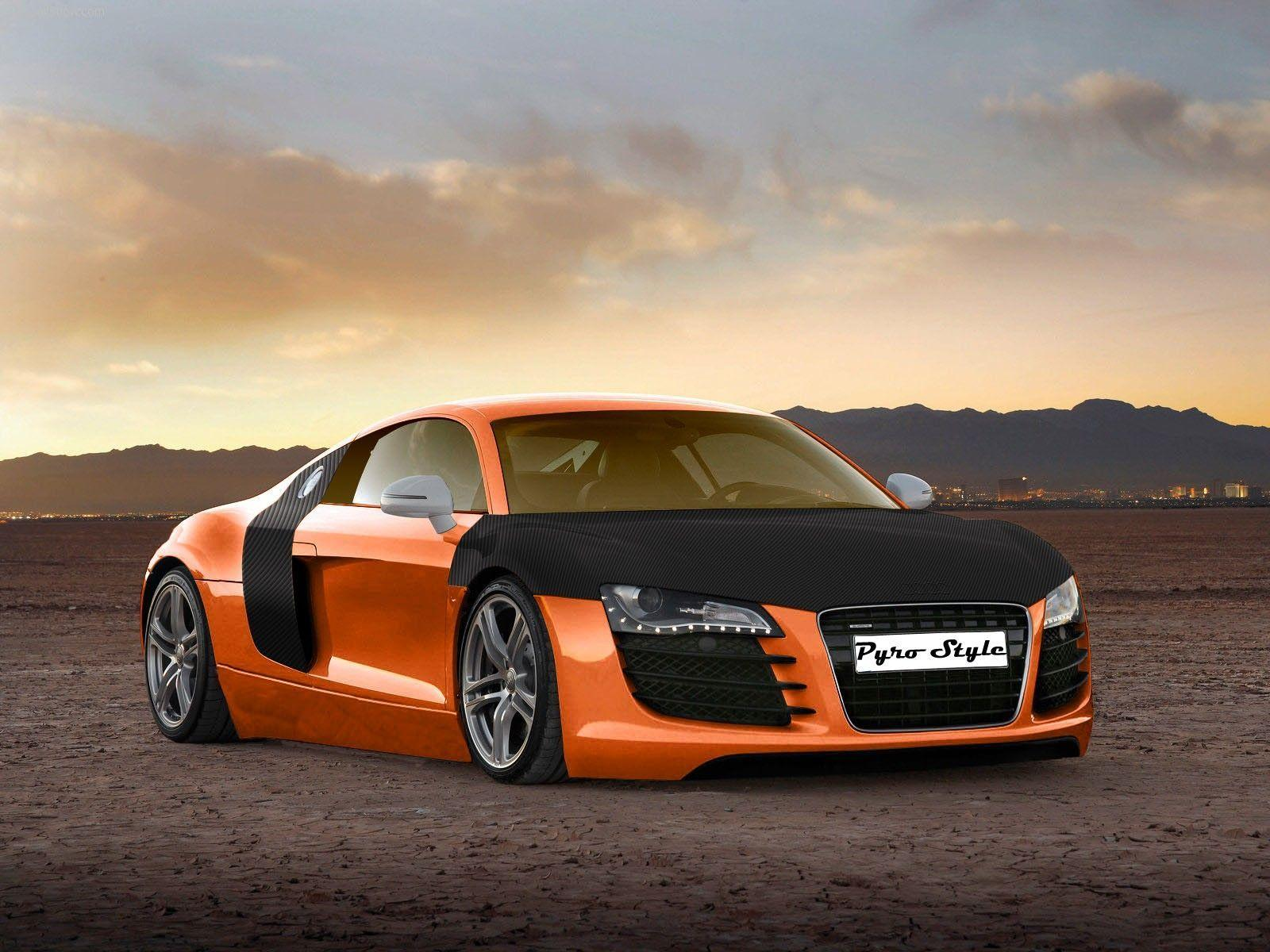 Top speedy Autos: Audi R8 HD Wallpapers