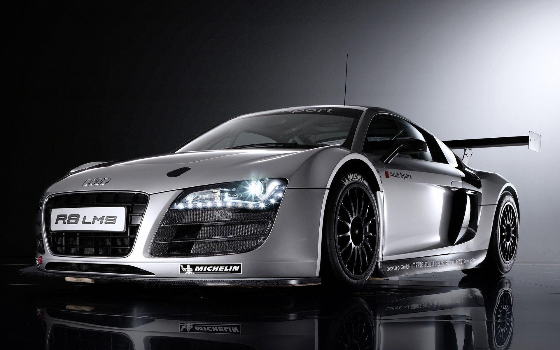 Audi R8 LMS Front View Backgrounds 8329 Wallpapers WallscreenHD