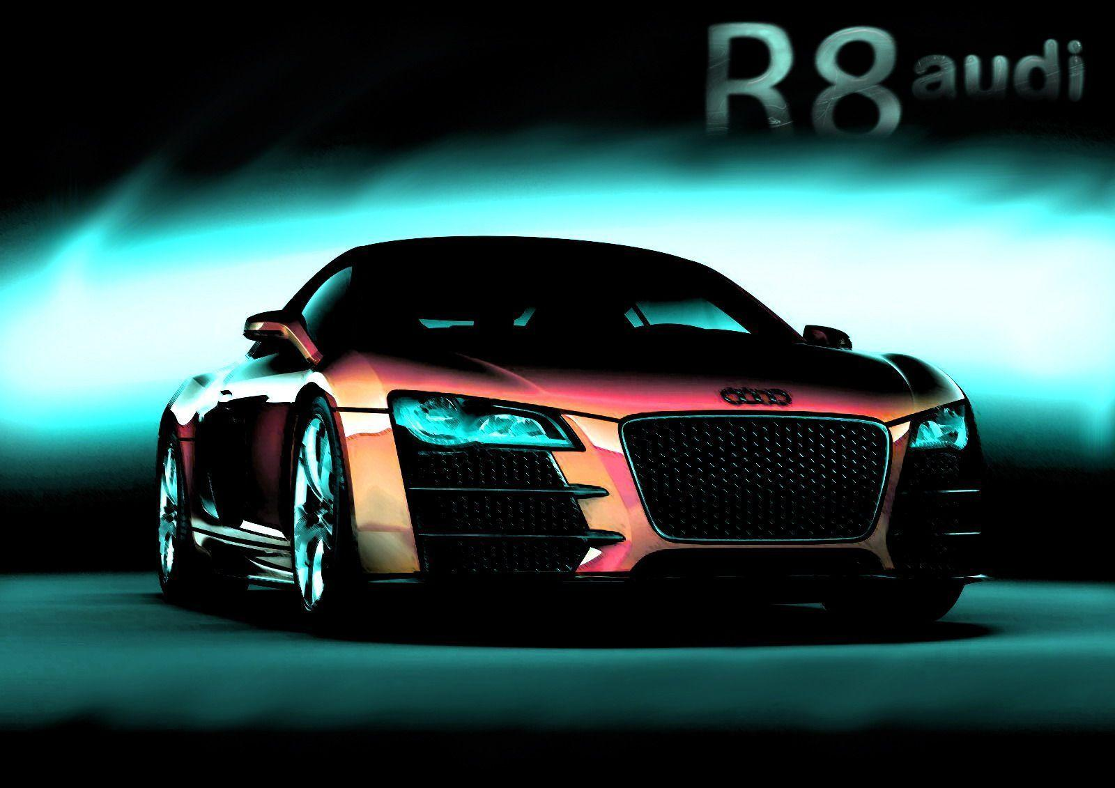 Audi R8 Cars Wallpapers For Widescreen & Desktop Backgrounds
