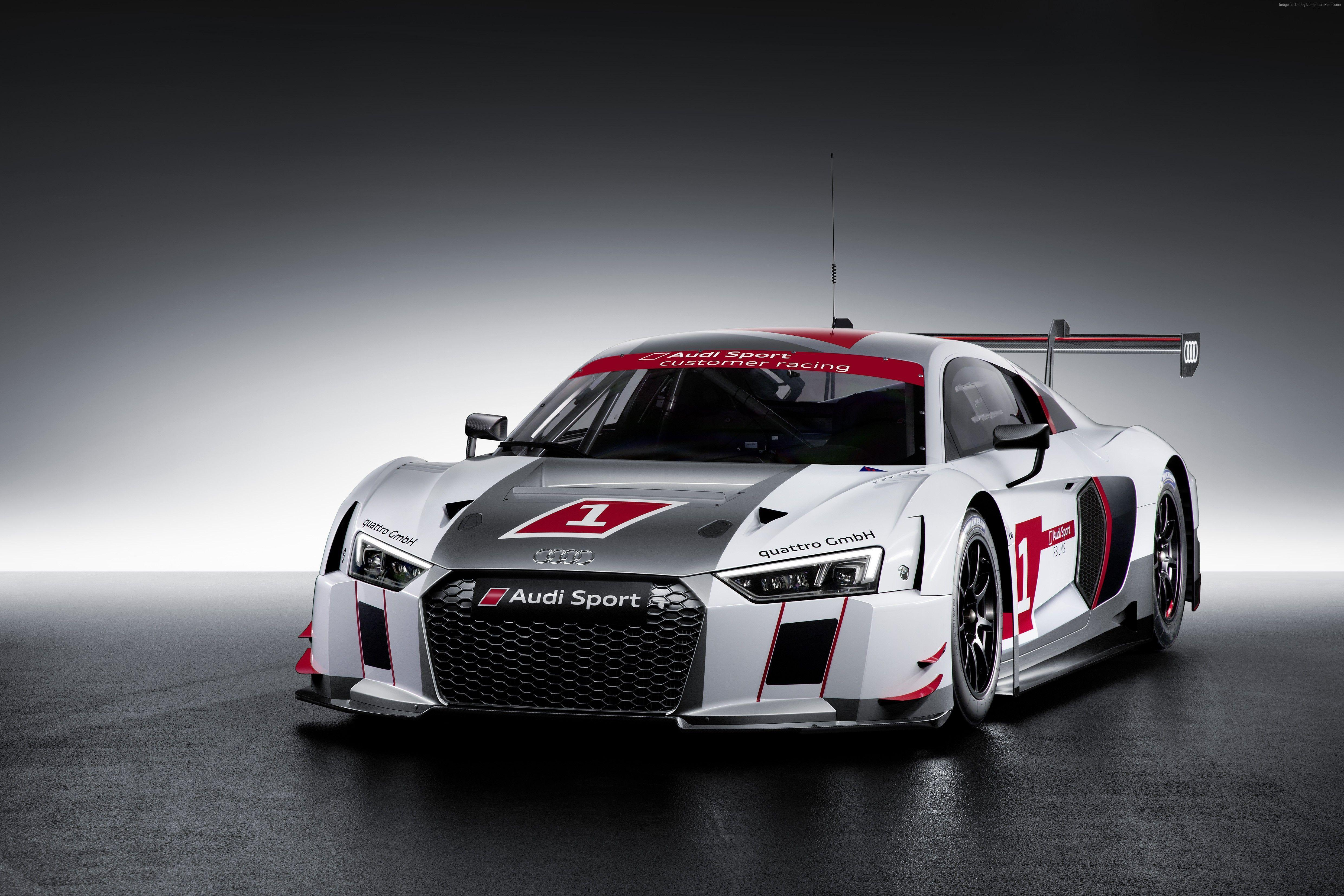 Wallpapers Audi R8 LMS, coupe, supercar, gray., Cars & Bikes