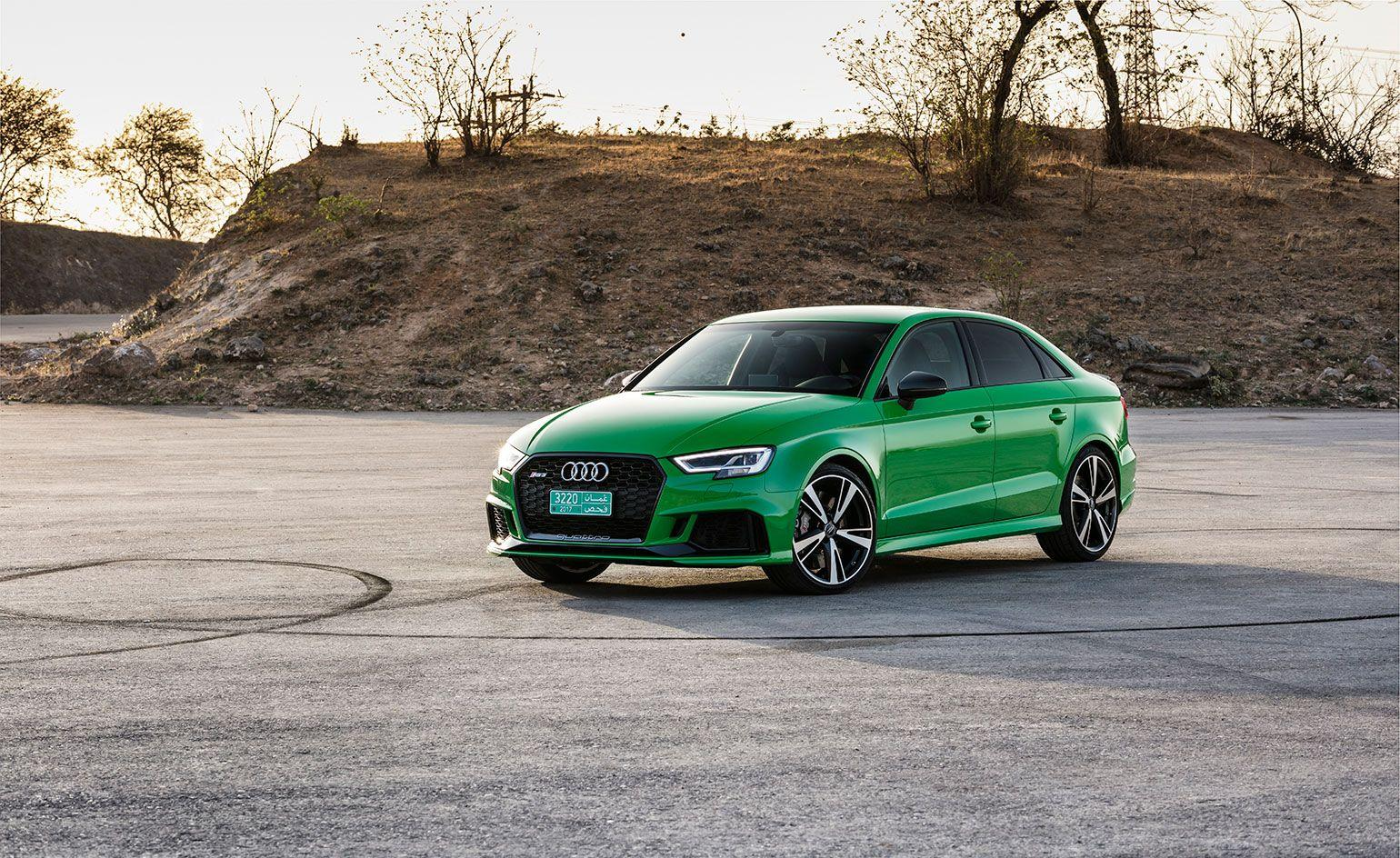 The launch of the new Audi RS3