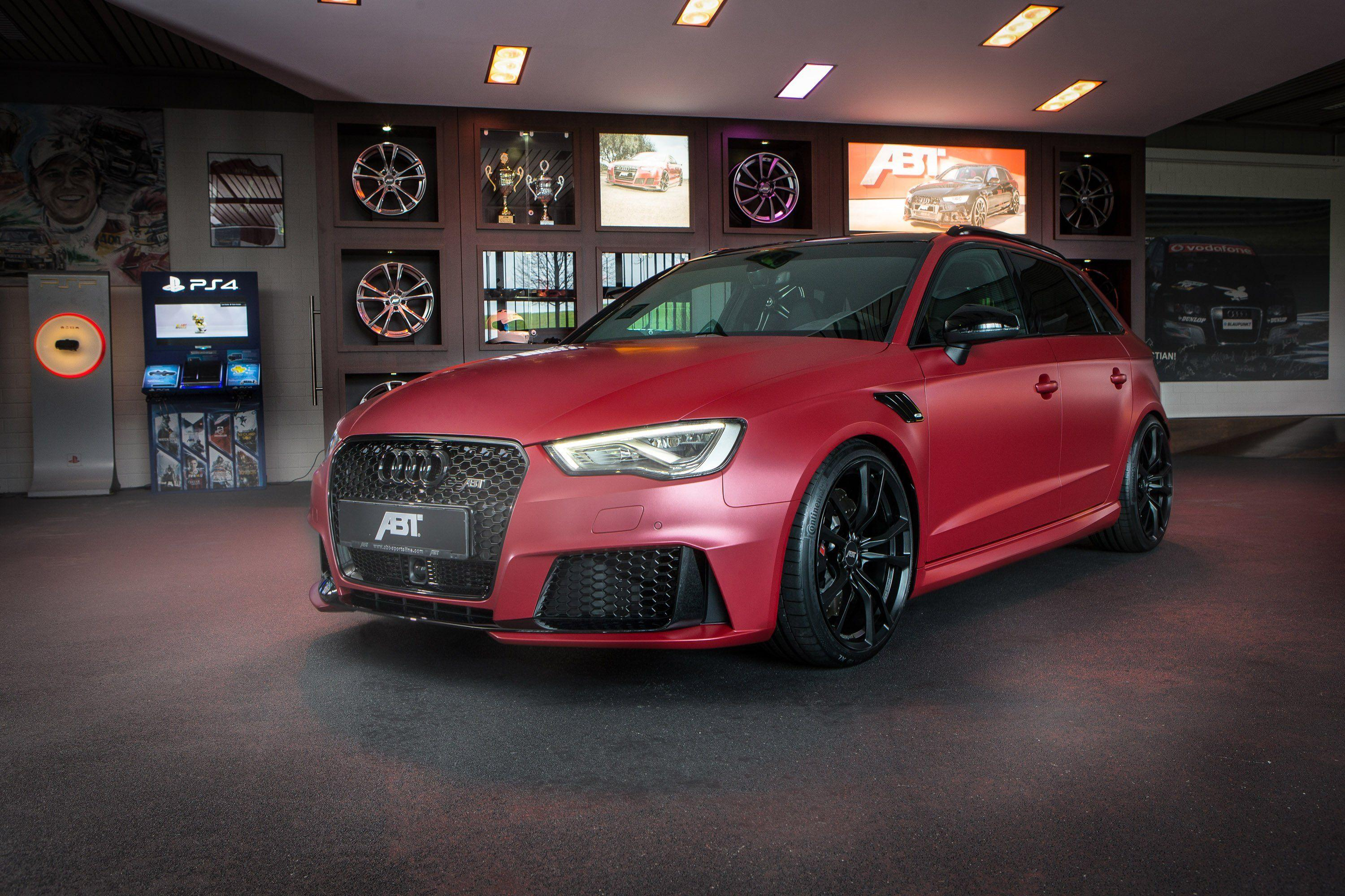 ABT sportback cars Audi RS3 Tuning wallpapers